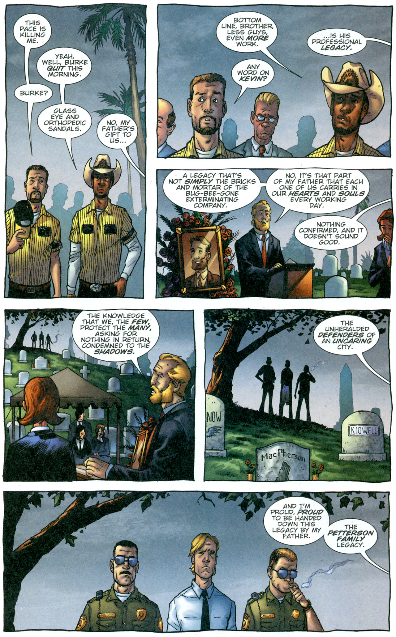 Read online The Exterminators comic -  Issue #13 - 6