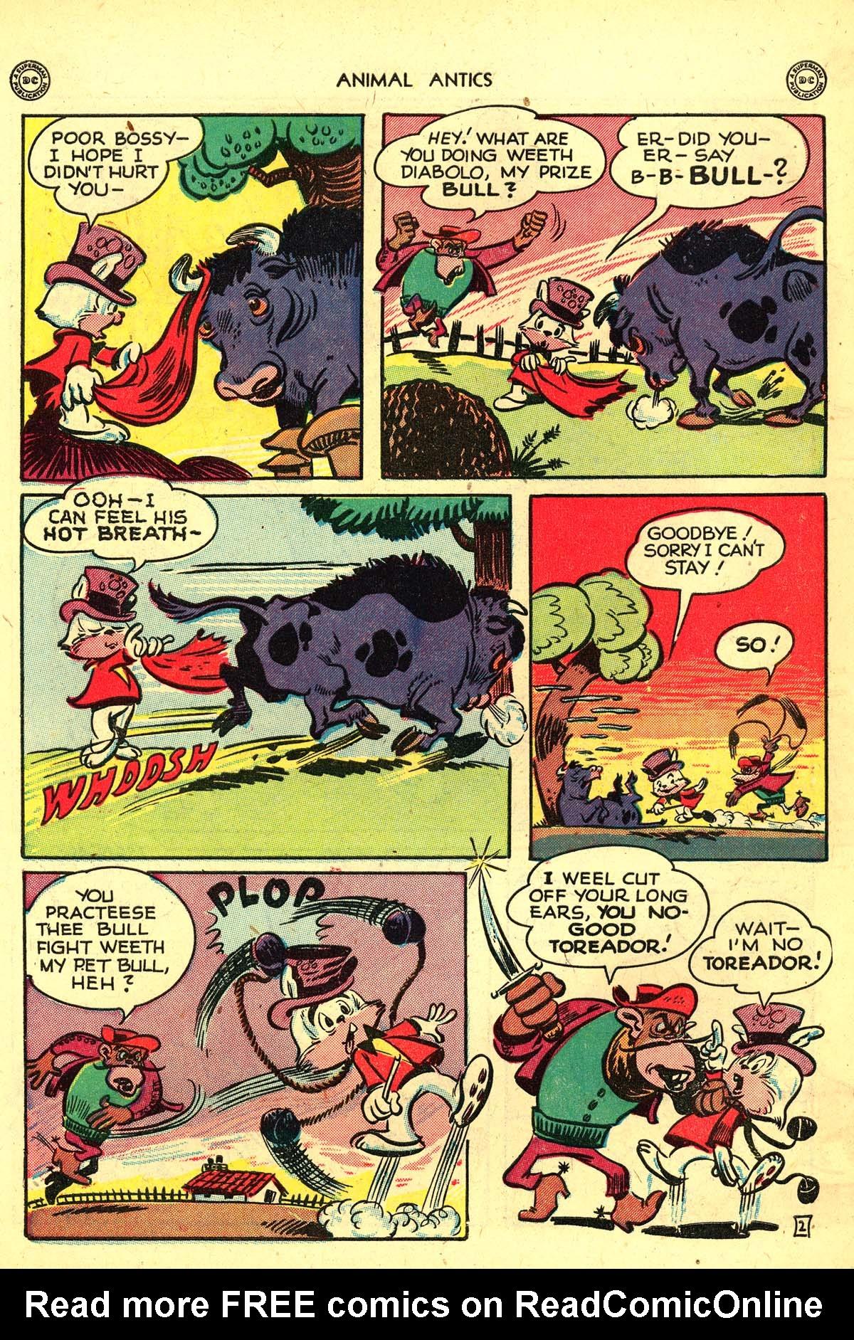Read online Animal Antics comic -  Issue #13 - 44