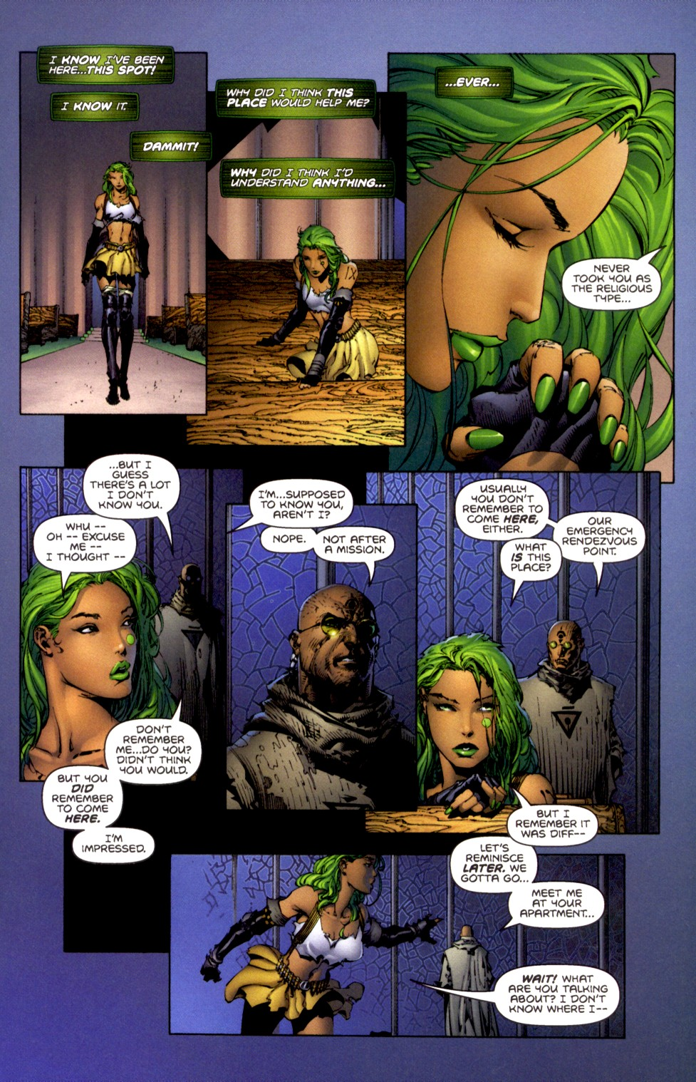 Read online Aphrodite IX (2000) comic -  Issue #2 - 18