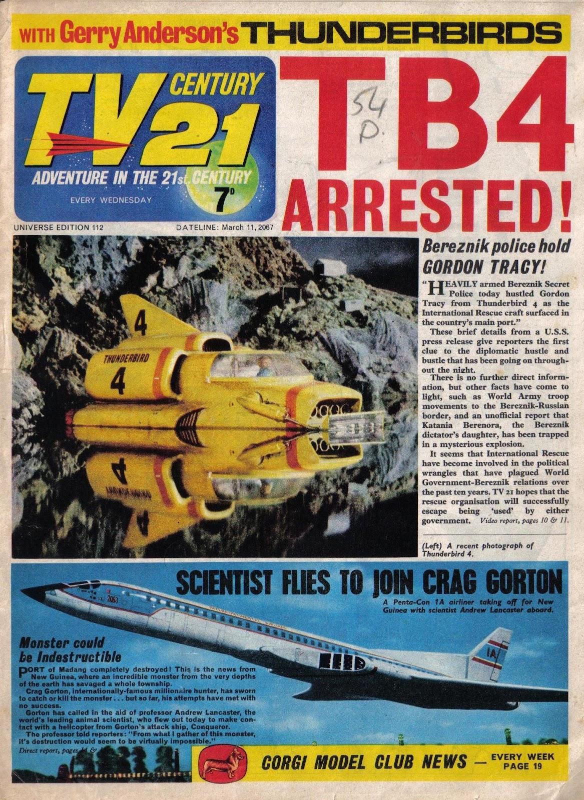 TV Century 21 (TV 21) 112 Page 1
