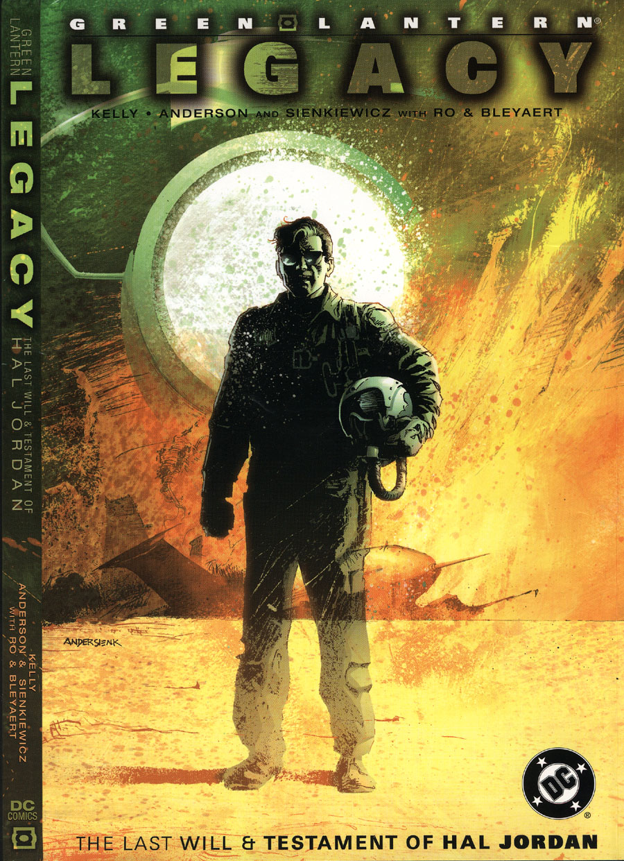 Read online Green Lantern: Legacy: The Last Will and Testament of Hal Jordan comic -  Issue # TPB - 1