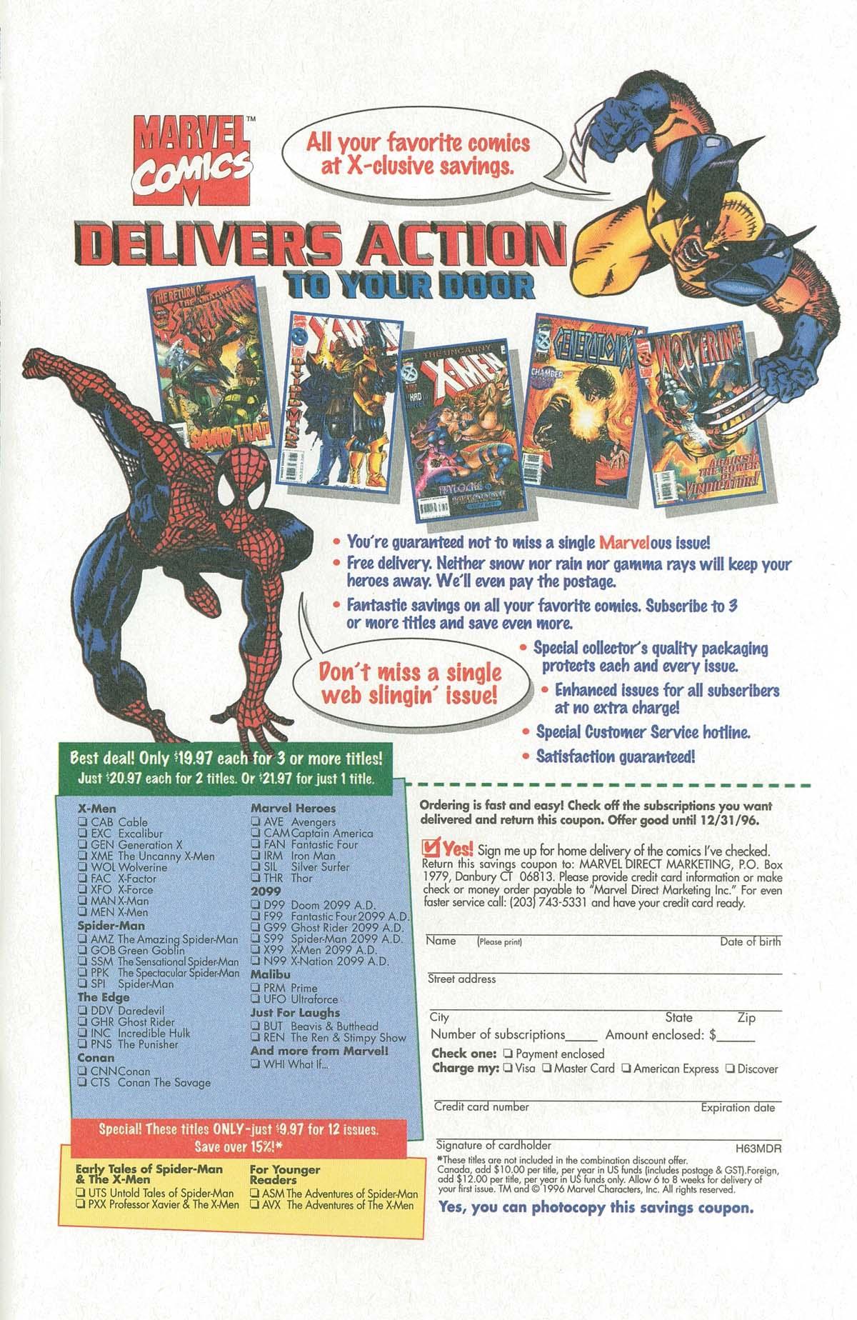 Read online UltraForce (1995) comic -  Issue #6 - 29