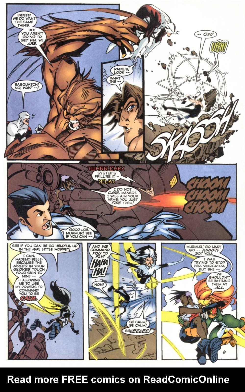Read online Alpha Flight (1997) comic -  Issue #20 - 10