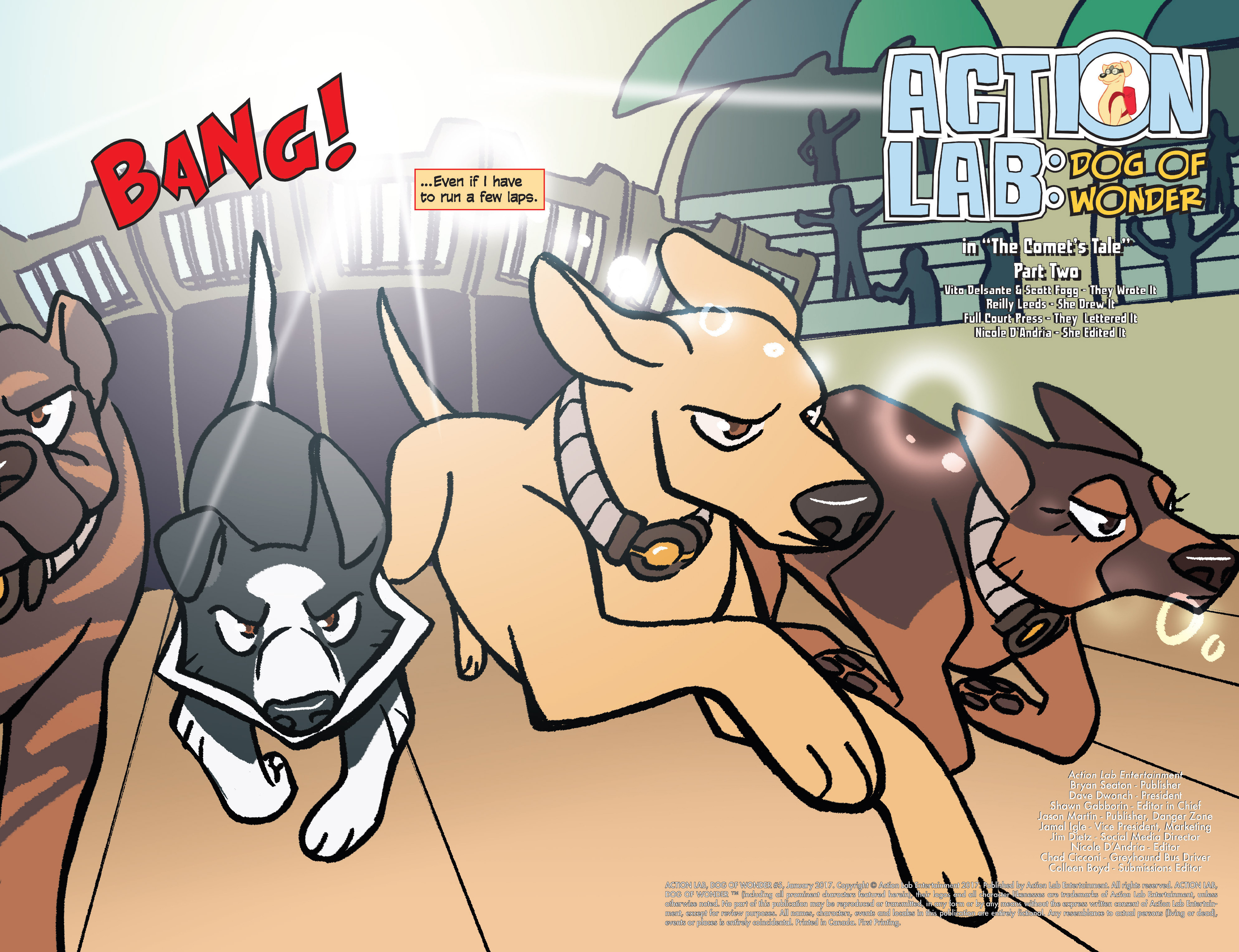 Read online Action Lab, Dog of Wonder comic -  Issue #5 - 3