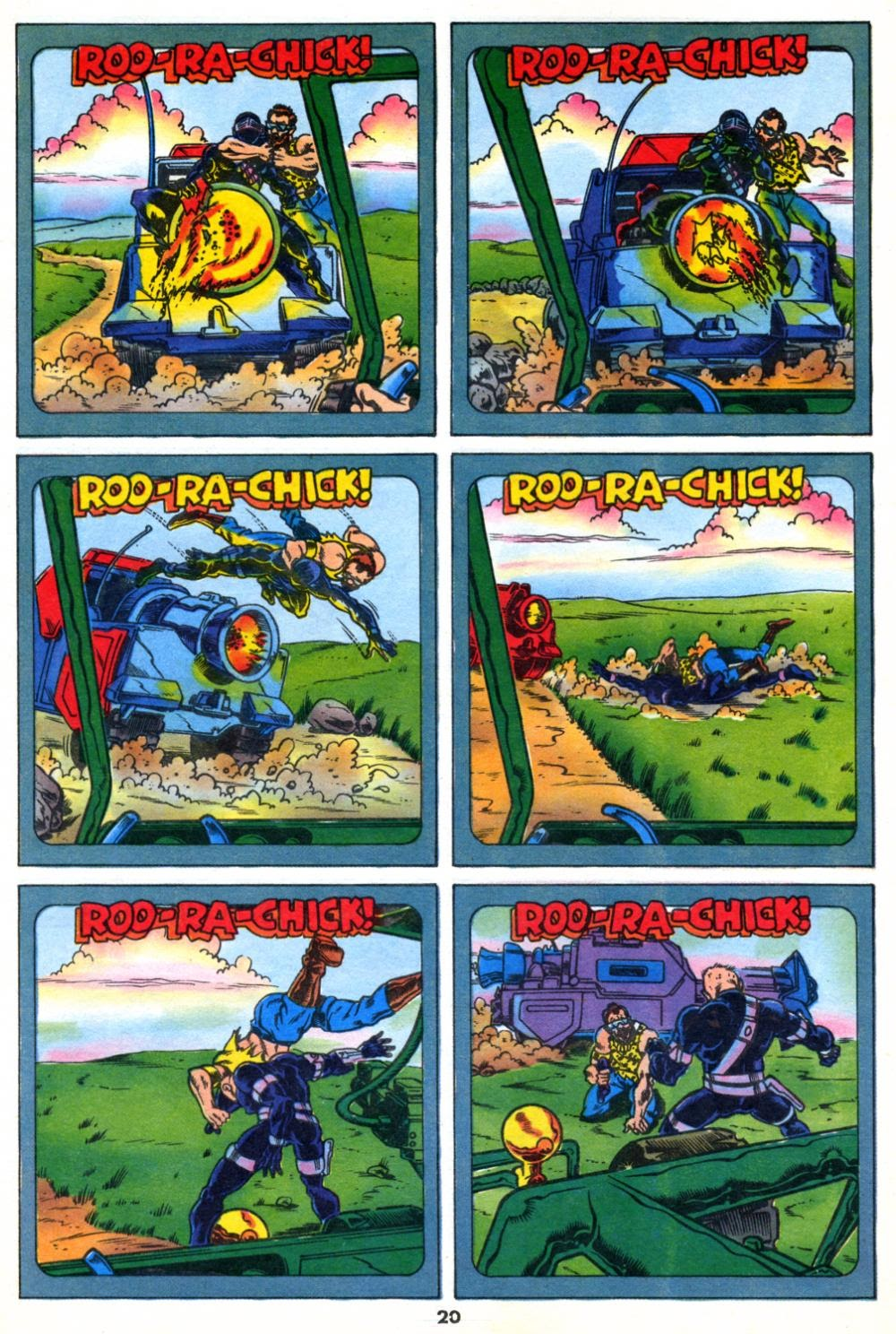 G.I. Joe European Missions issue 10 - Page 20