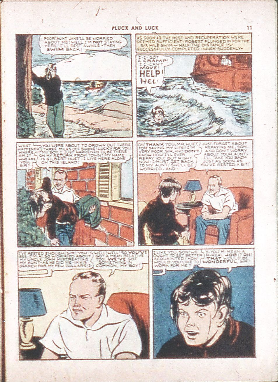 Read online Shadow Comics comic -  Issue #6 - 13