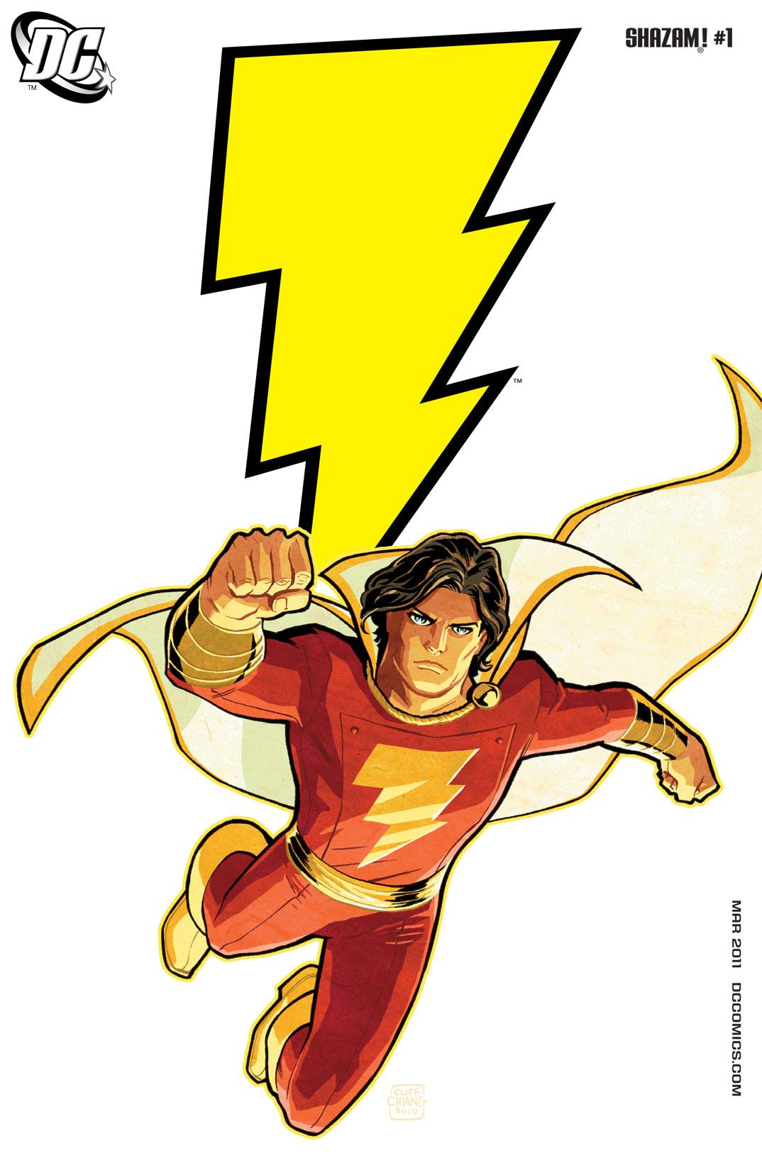Read online Shazam! (2011) comic -  Issue #1 - 1