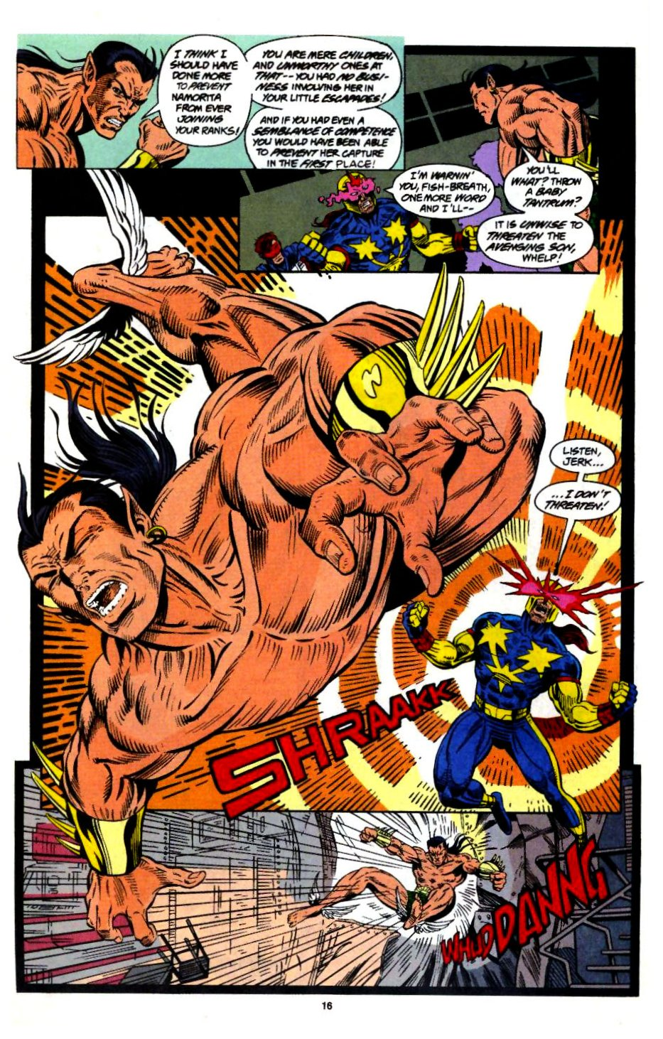 The New Warriors Issue #57 #61 - English 14