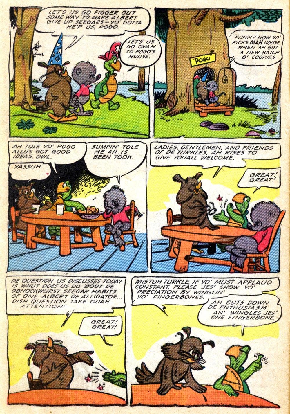 Read online Animal Comics comic -  Issue #22 - 16