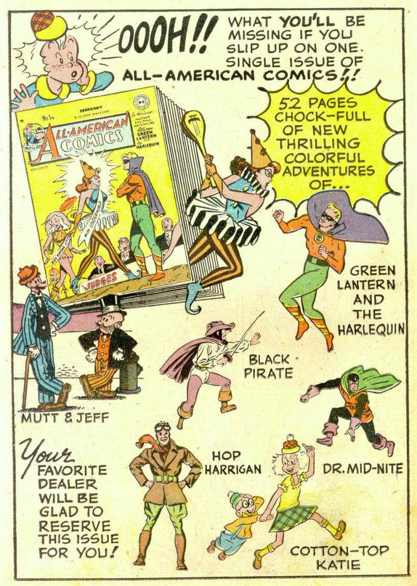 Read online Sensation (Mystery) Comics comic -  Issue #74 - 32