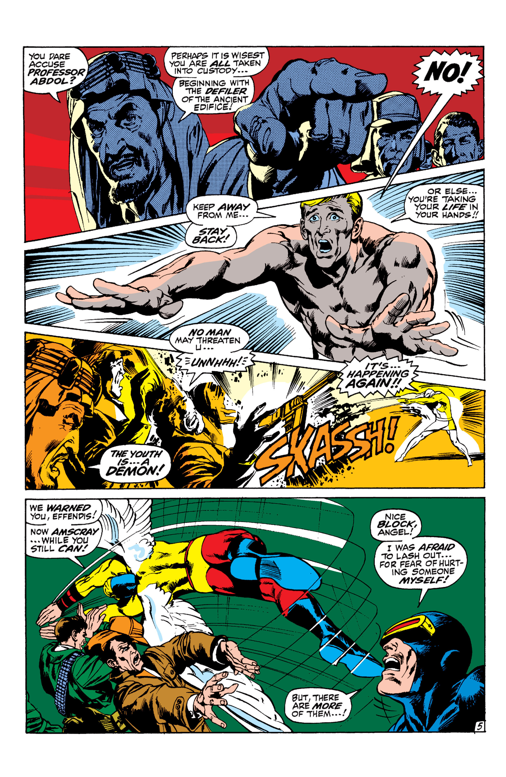 Uncanny X-Men (1963) 57 Page 5