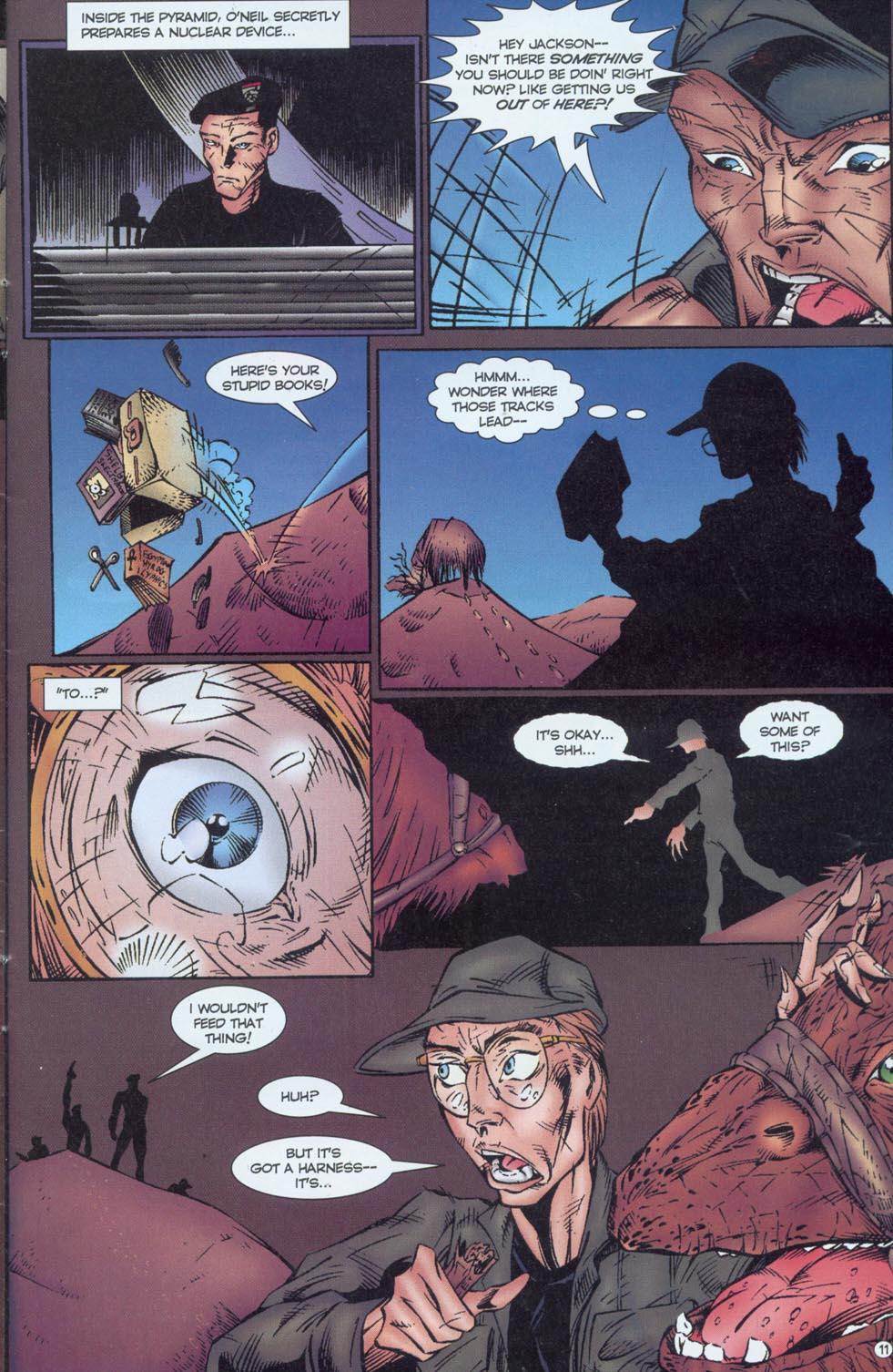 Read online Stargate comic -  Issue #1 - 13