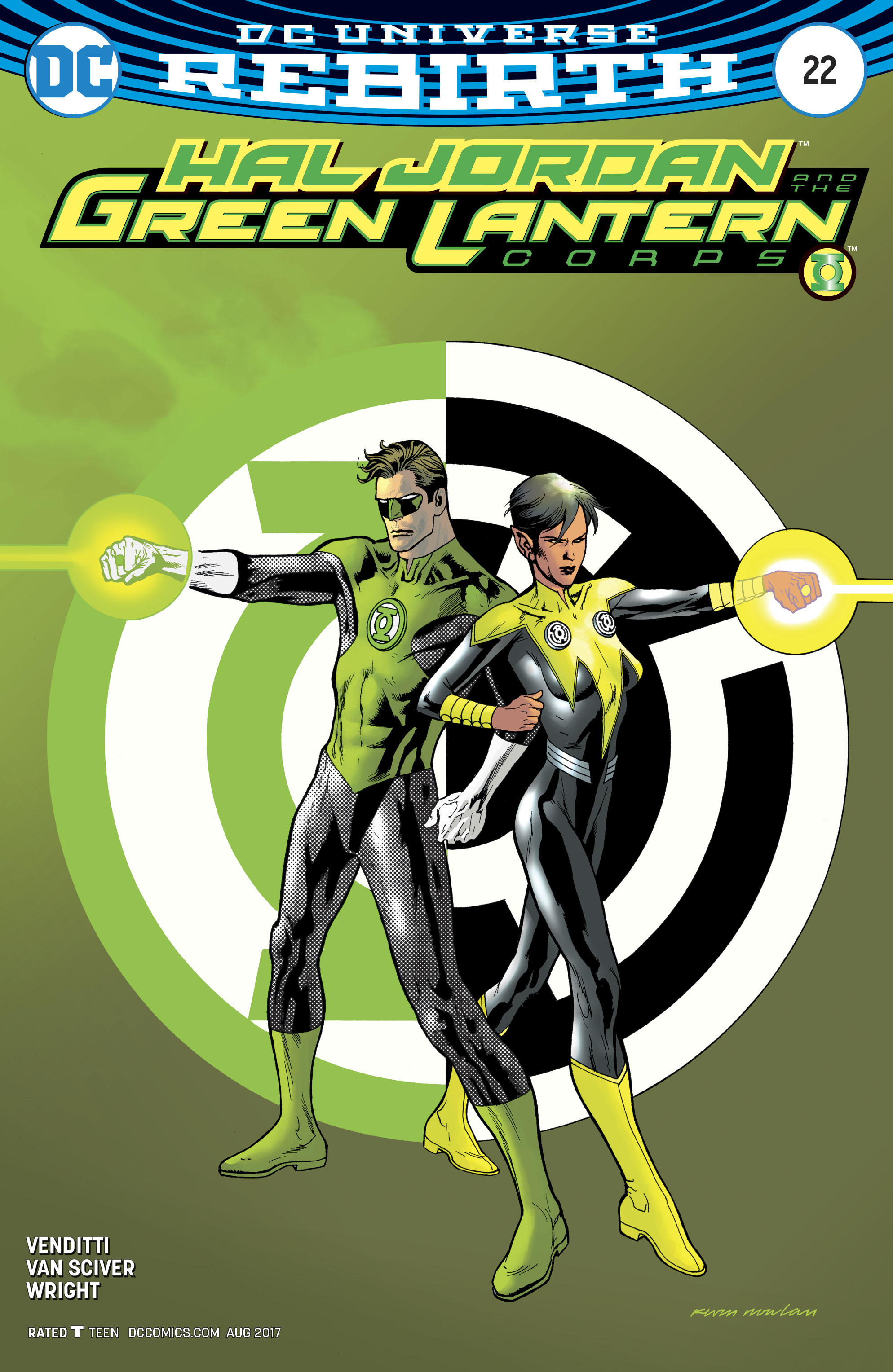 Read online Hal Jordan And The Green Lantern Corps comic -  Issue #22 - 3