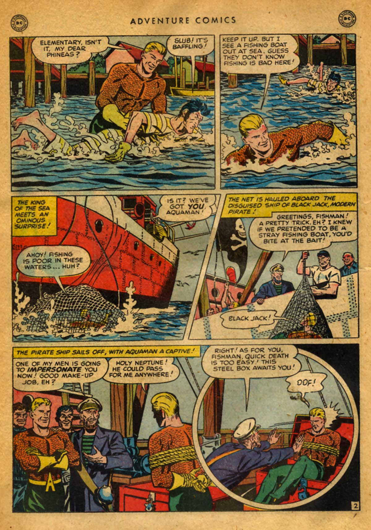 Read online Adventure Comics (1938) comic -  Issue #141 - 30
