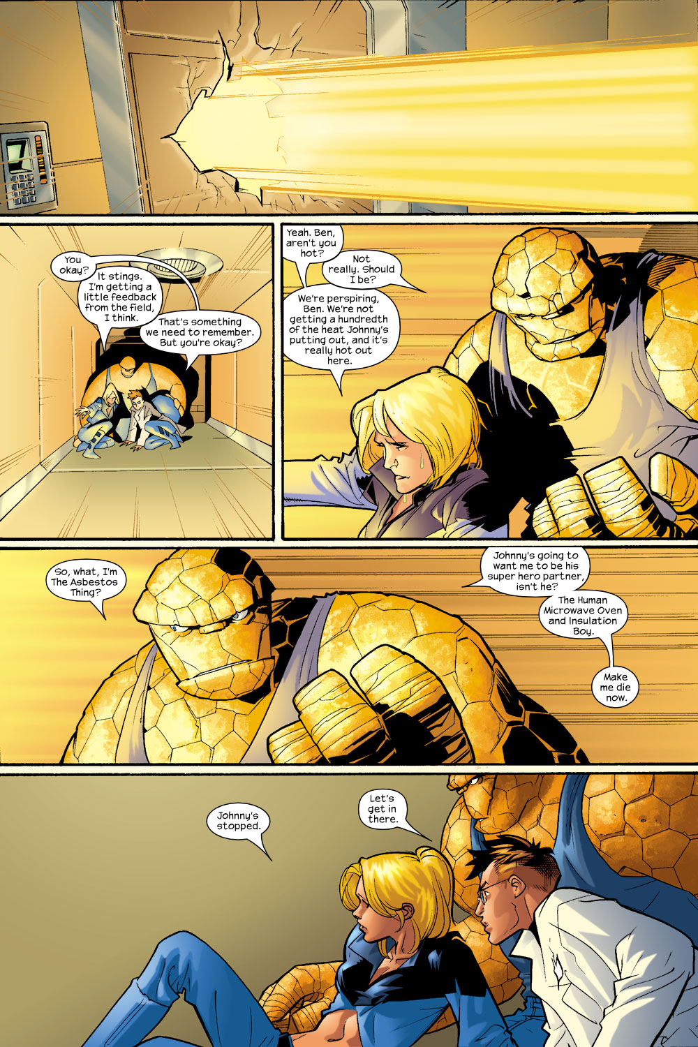 Read online Ultimate Fantastic Four (2004) comic -  Issue #9 - 18
