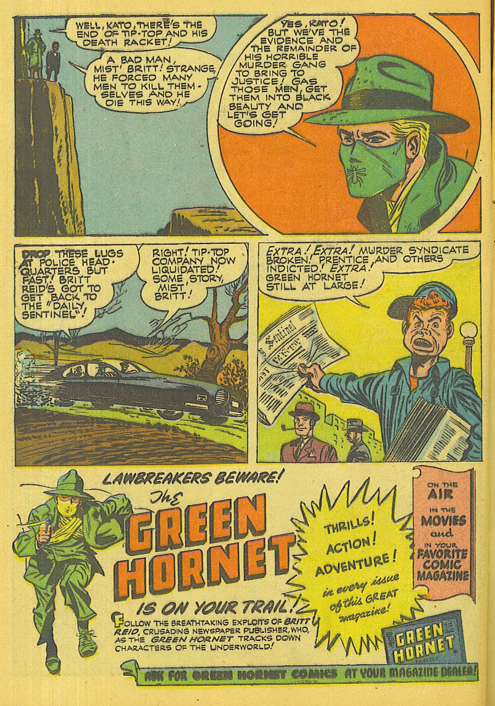 Green Hornet Comics issue 32 - Page 15