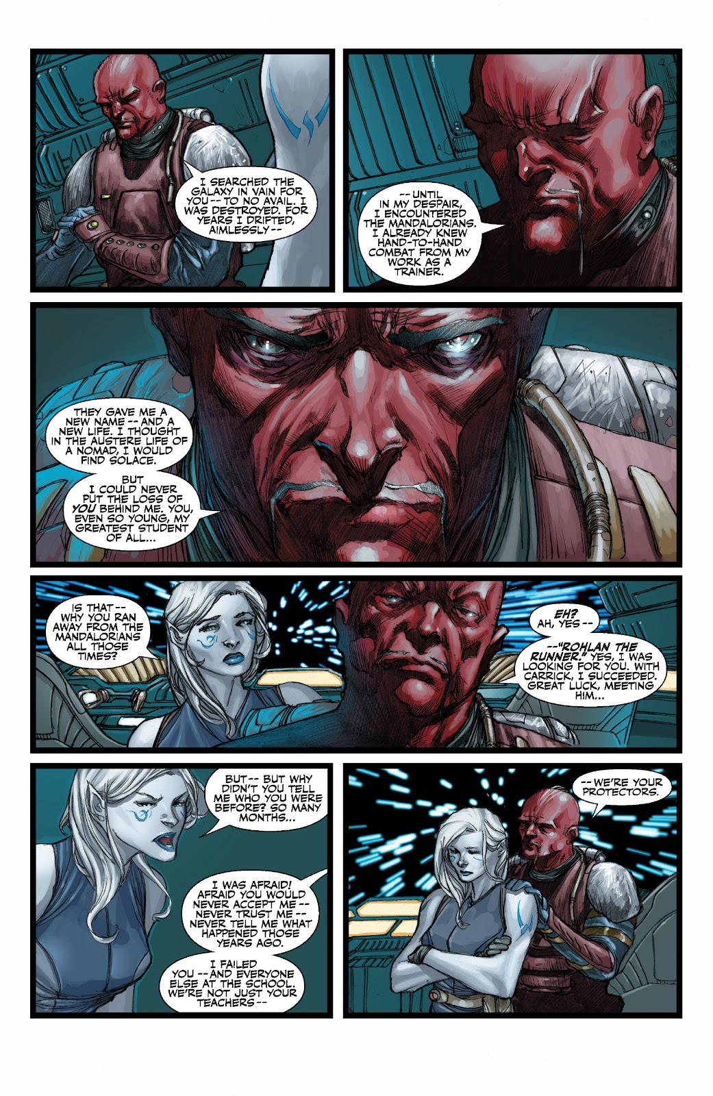 Read online Star Wars Legends: The Old Republic - Epic Collection comic -  Issue # TPB 3 (Part 3) - 36