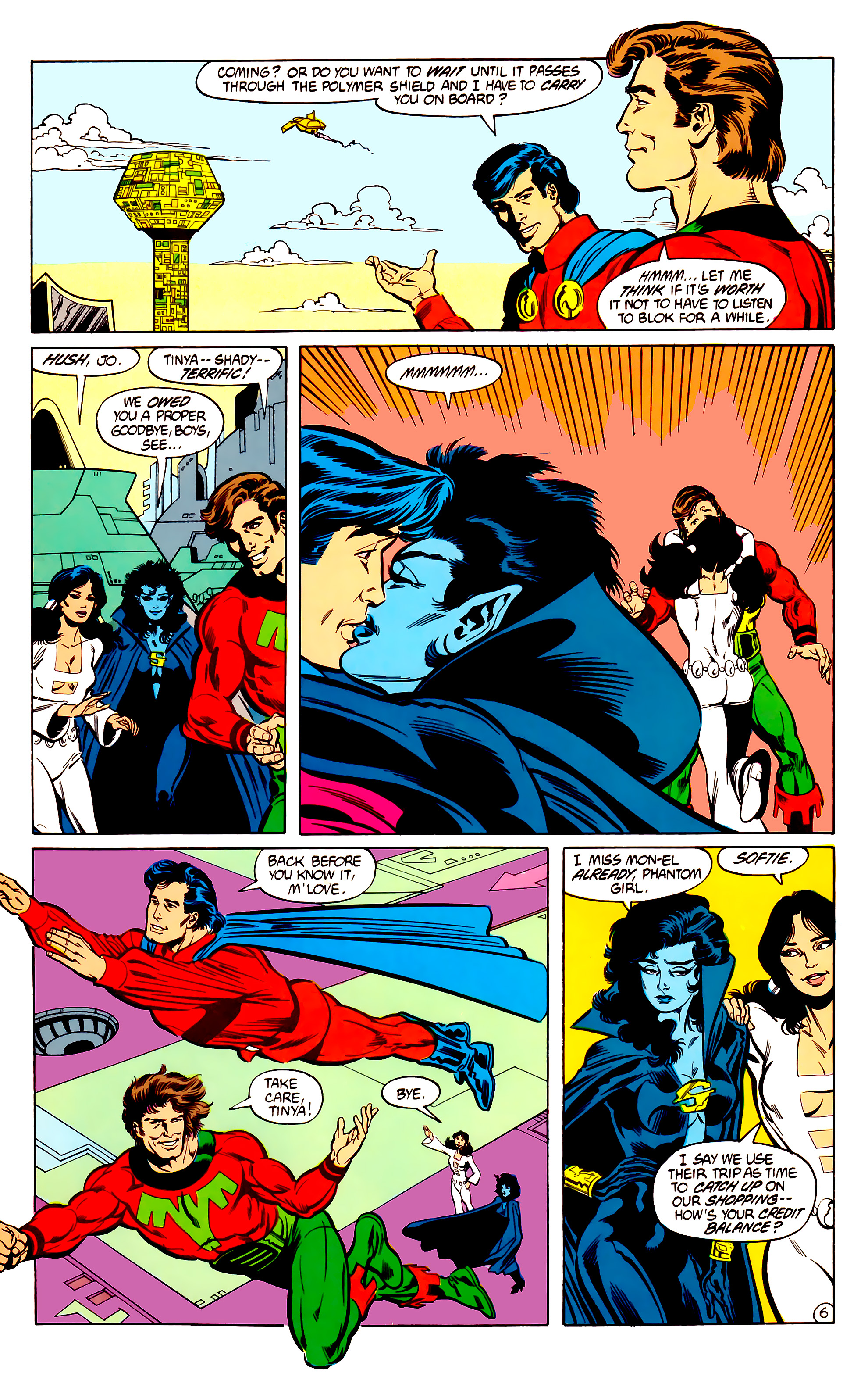 Legion of Super-Heroes (1984) 30 Page 6