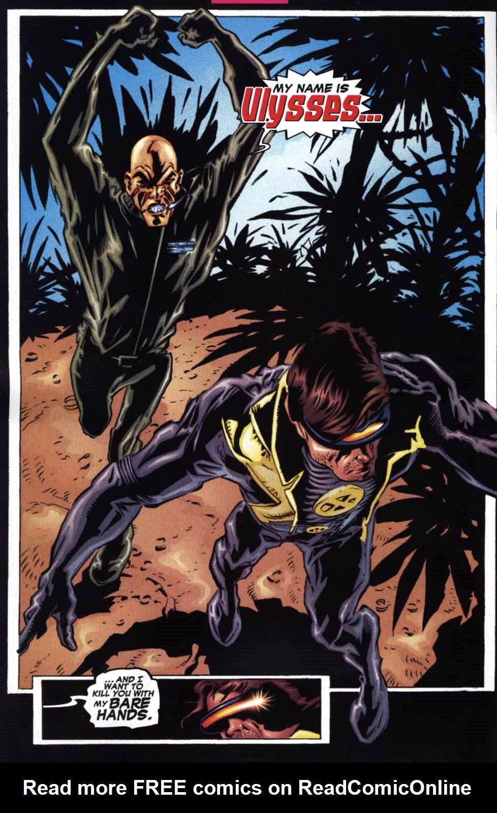 Read online Cyclops (2001) comic -  Issue #2 - 10