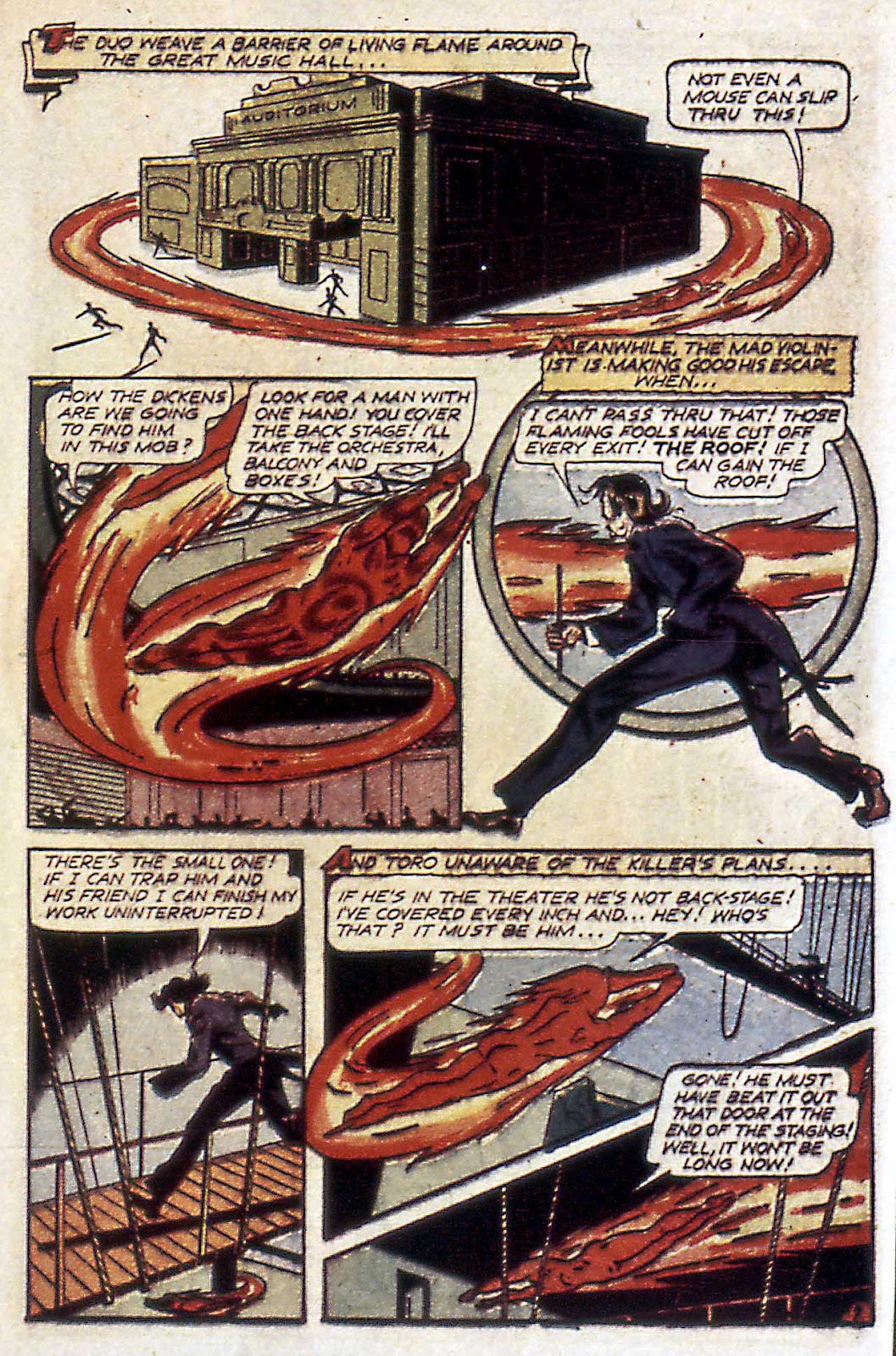 Comic The Human Torch (1940) issue 18