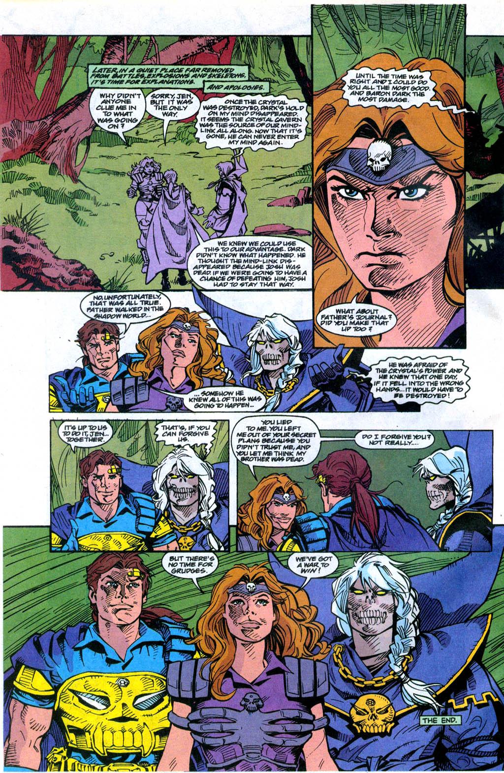 Skeleton Warriors Issue #4 #4 - English 23