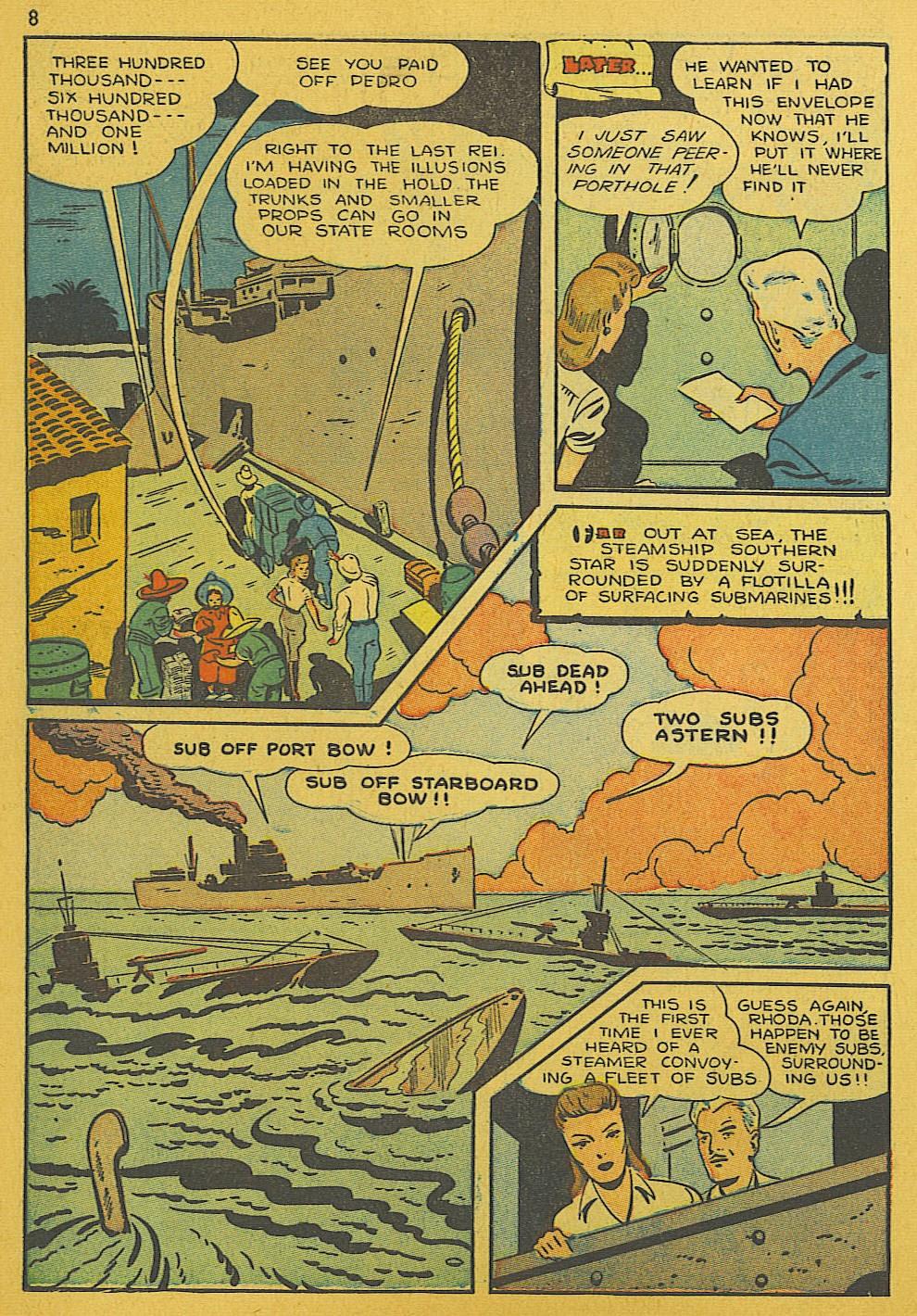 Read online Super-Magician Comics comic -  Issue #10 - 8