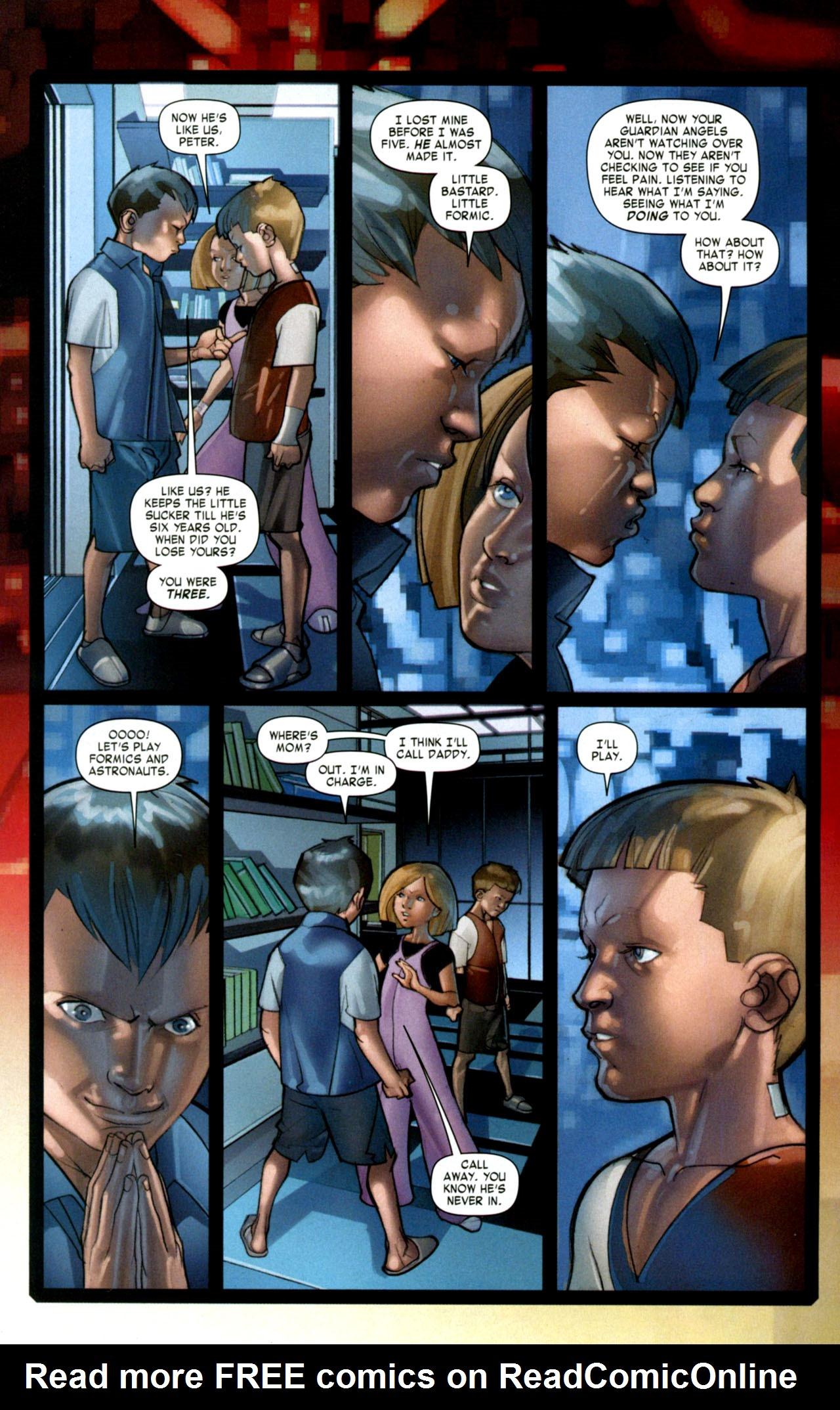 Read online Ender's Game: Battle School comic -  Issue #1 - 14