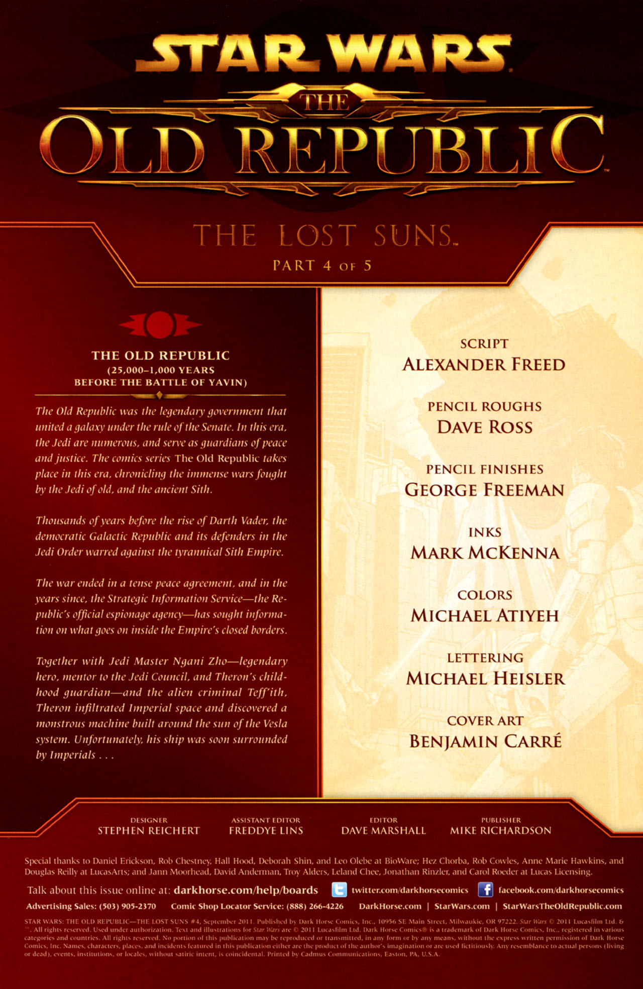 Read online Star Wars: The Old Republic - The Lost Suns comic -  Issue #4 - 2