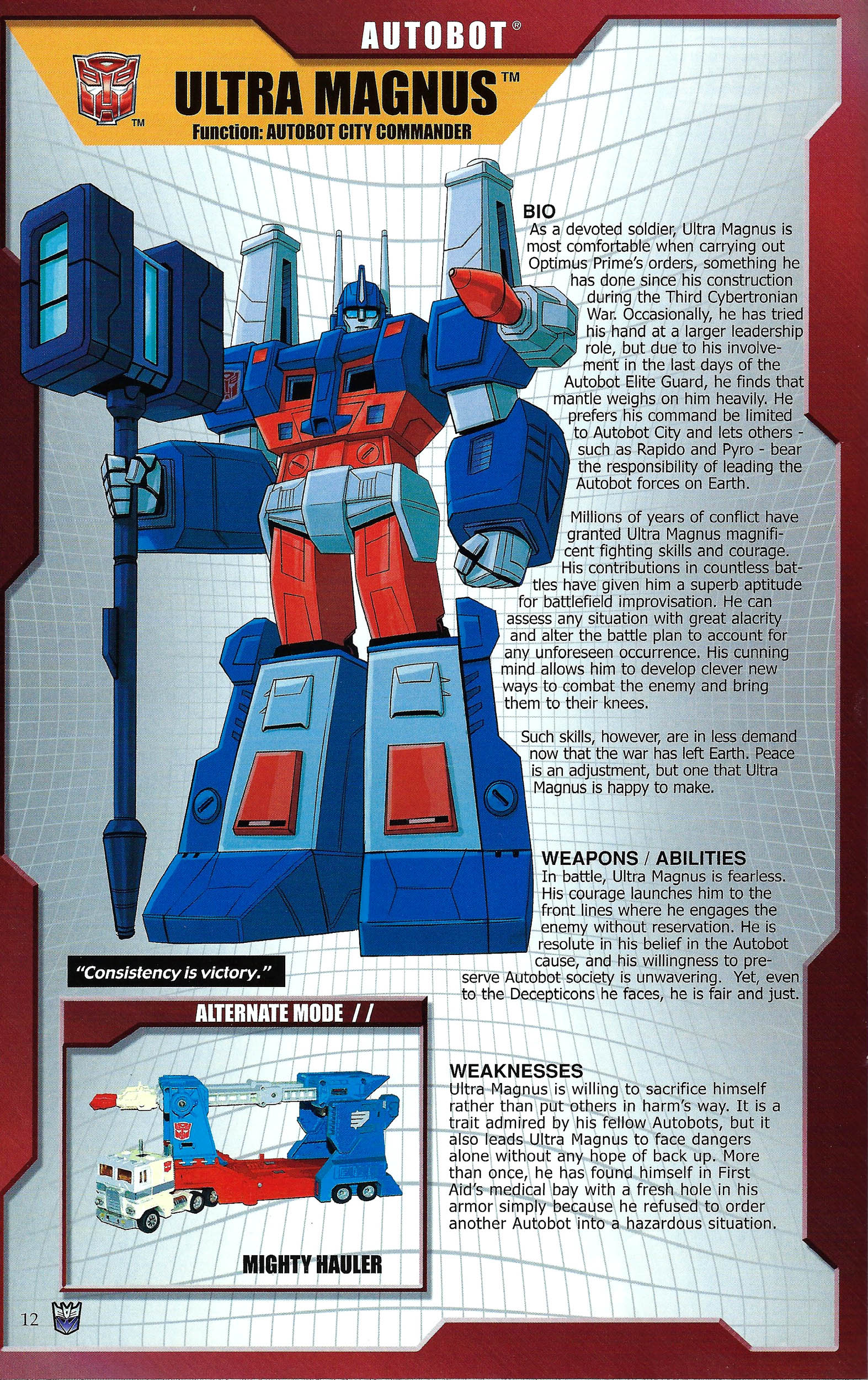 Read online Transformers: Collectors' Club comic -  Issue #43 - 12