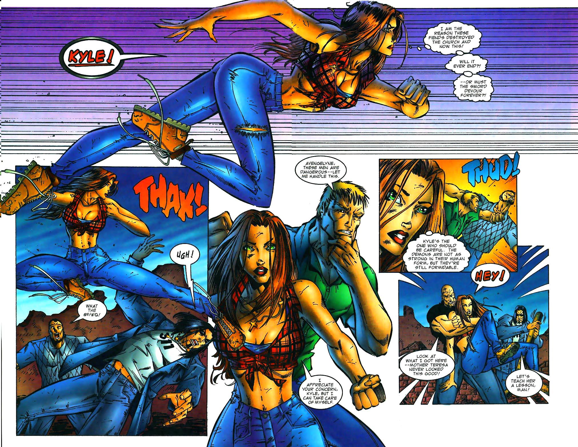 Read online Avengelyne (1996) comic -  Issue #1 - 10