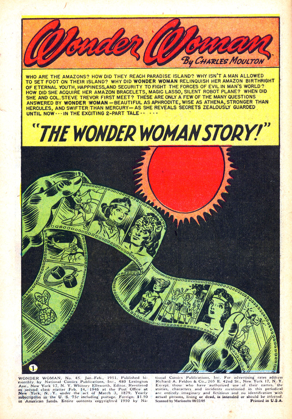 Read online Wonder Woman (1942) comic -  Issue #45 - 3