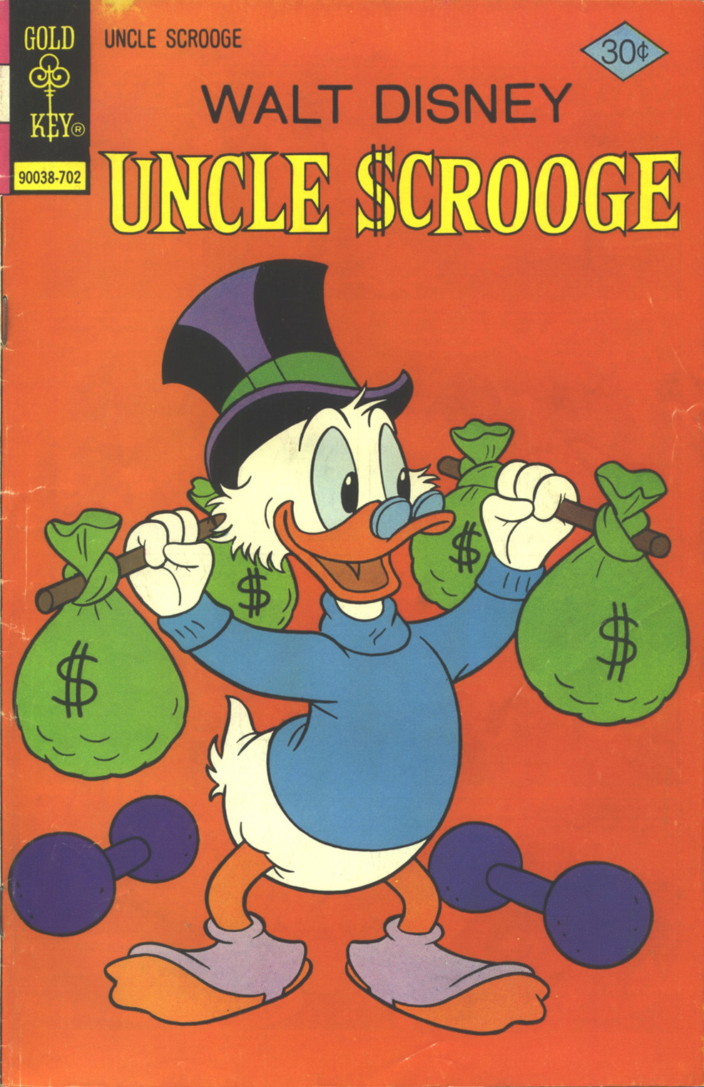 Read online Uncle Scrooge (1953) comic -  Issue #137 - 1
