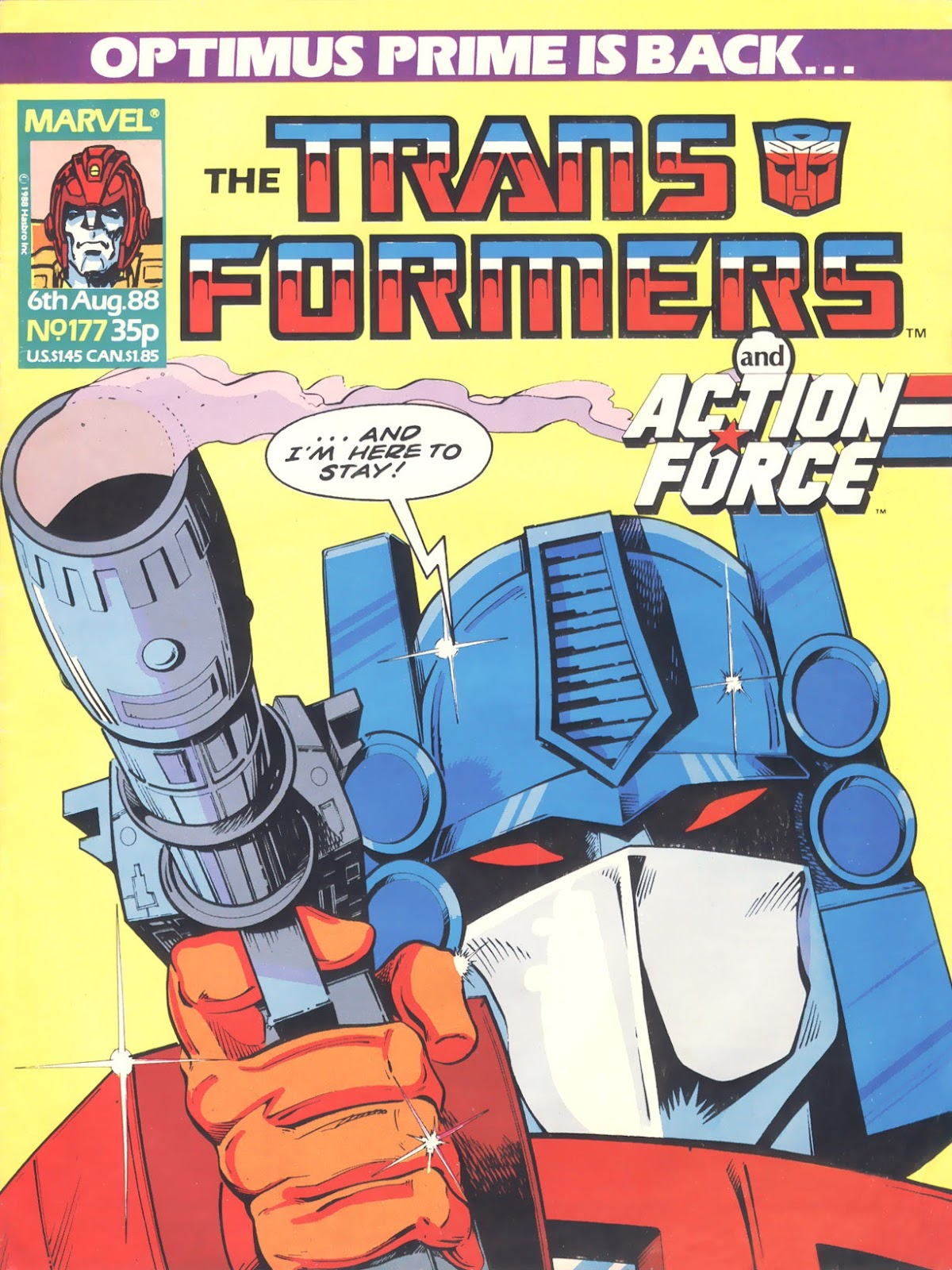 The Transformers (UK) 177 Page 1