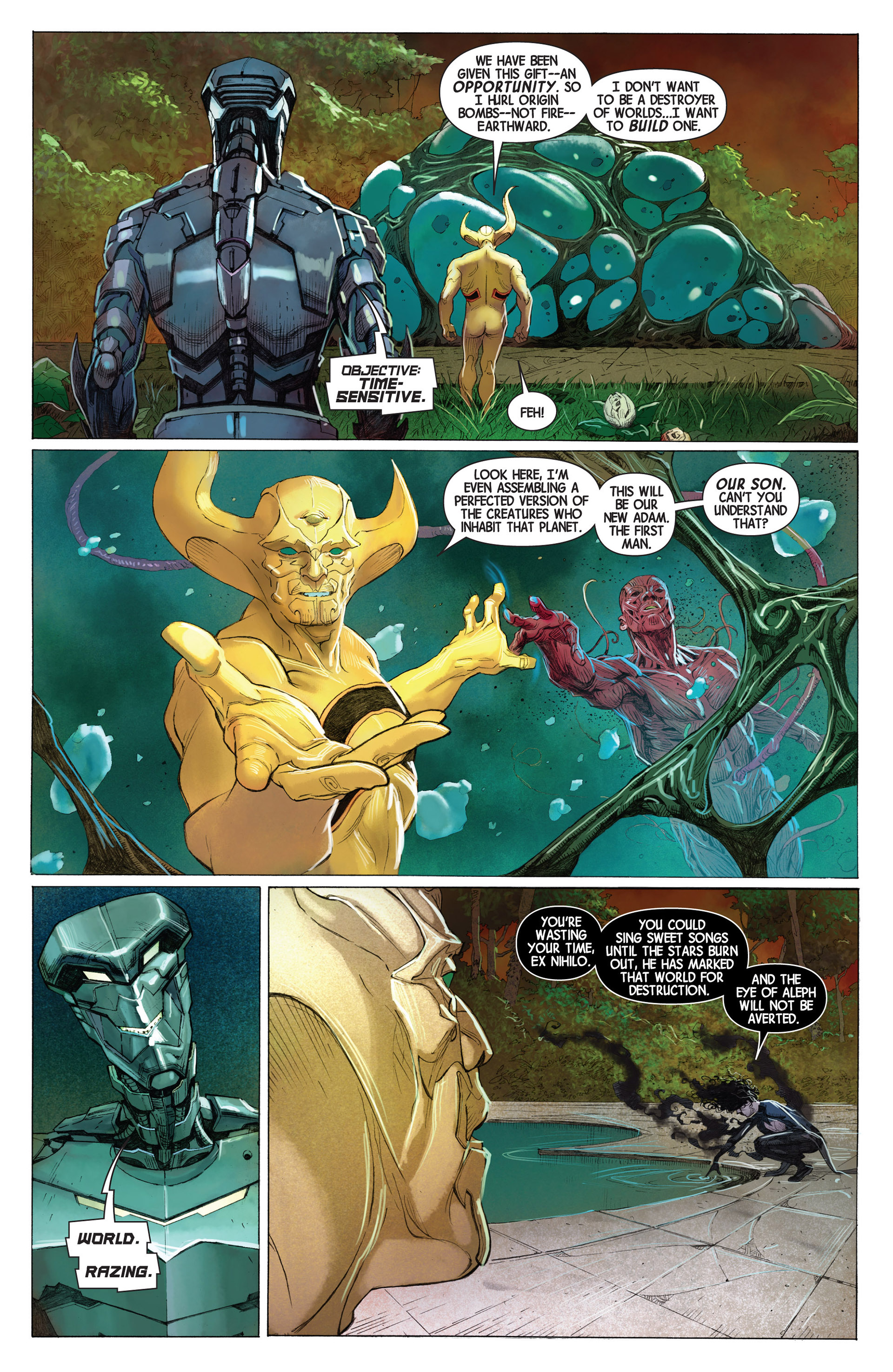 Read online Avengers (2013) comic -  Issue #1 - 11