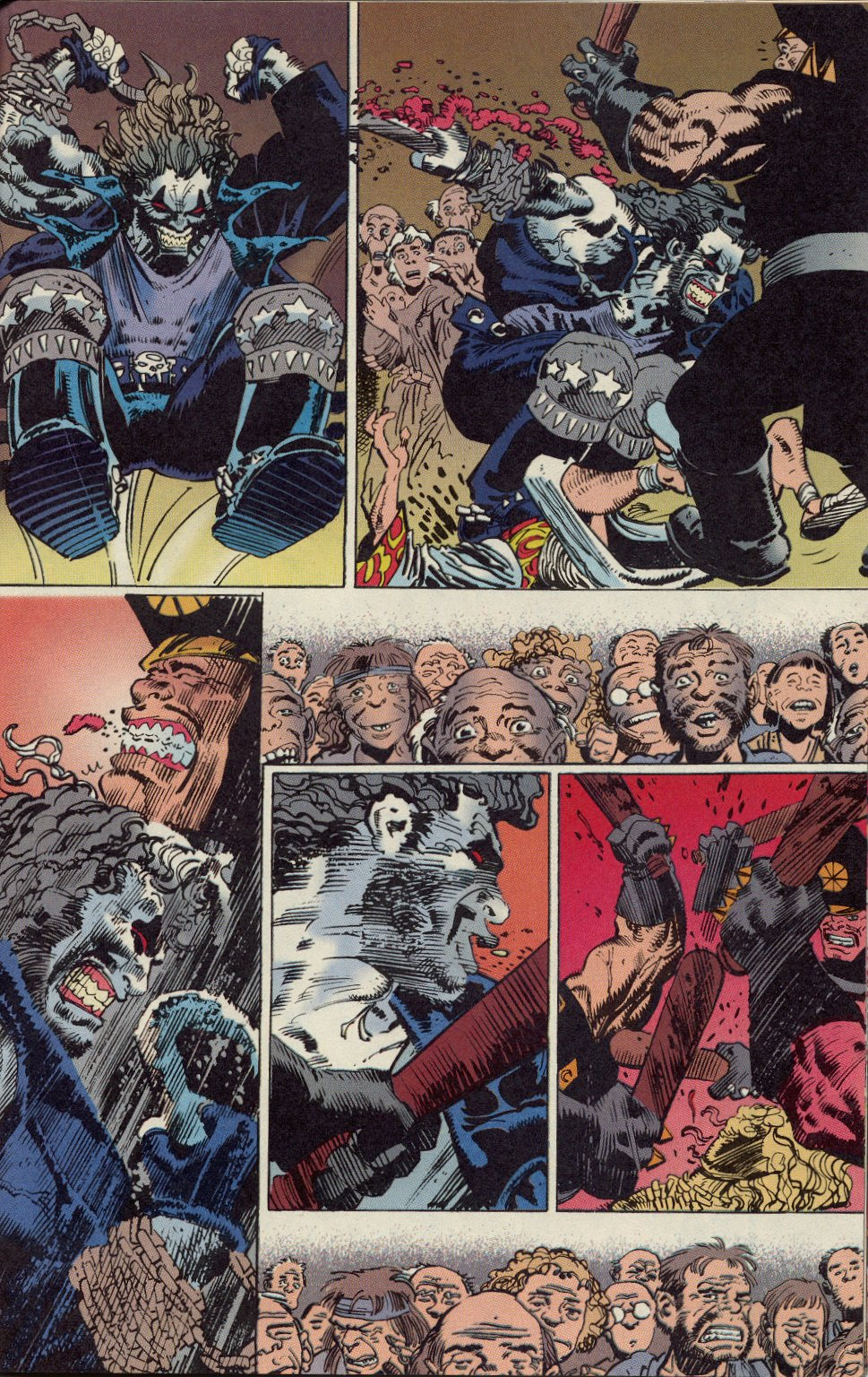 Read online Lobo: A Contract on Gawd comic -  Issue #1 - 14
