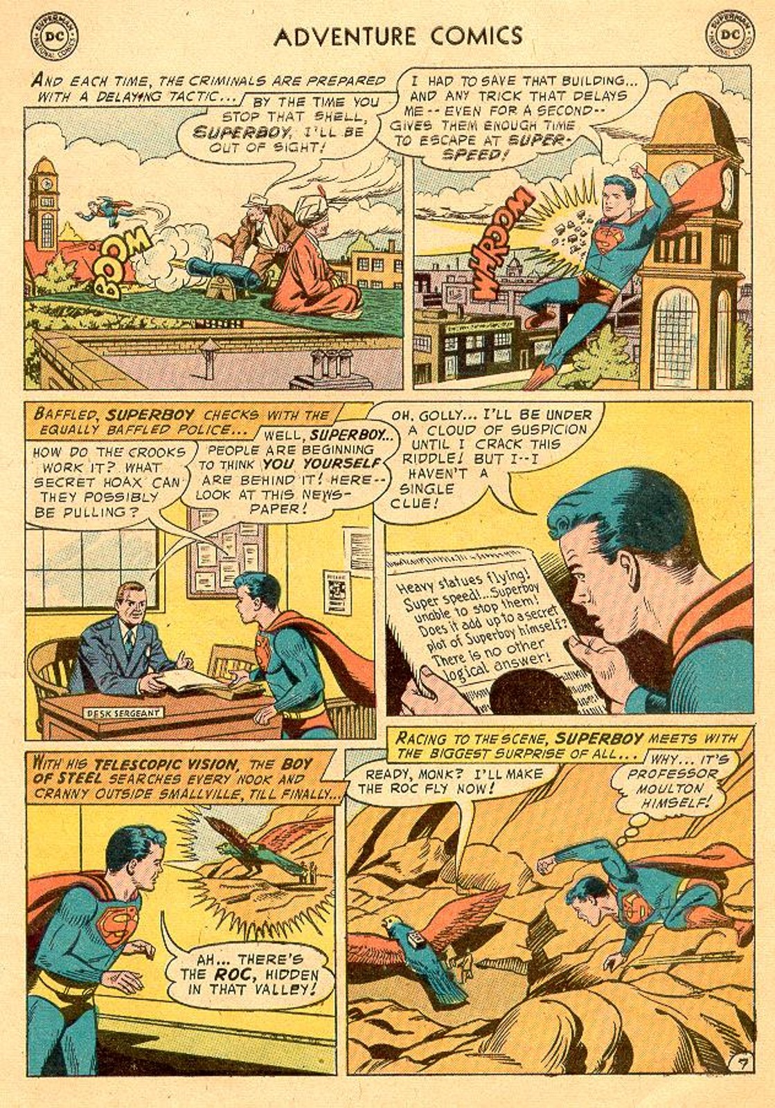 Read online Adventure Comics (1938) comic -  Issue #226 - 9