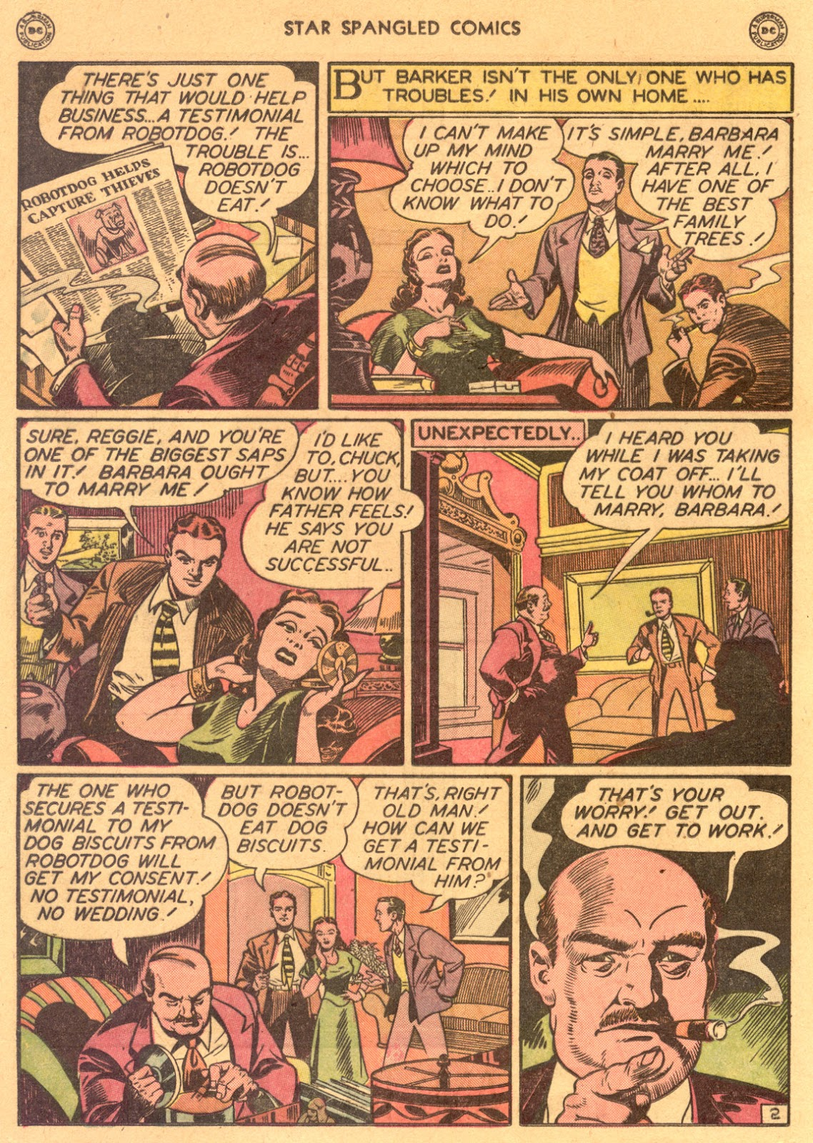 Star Spangled Comics (1941) issue 80 - Page 16