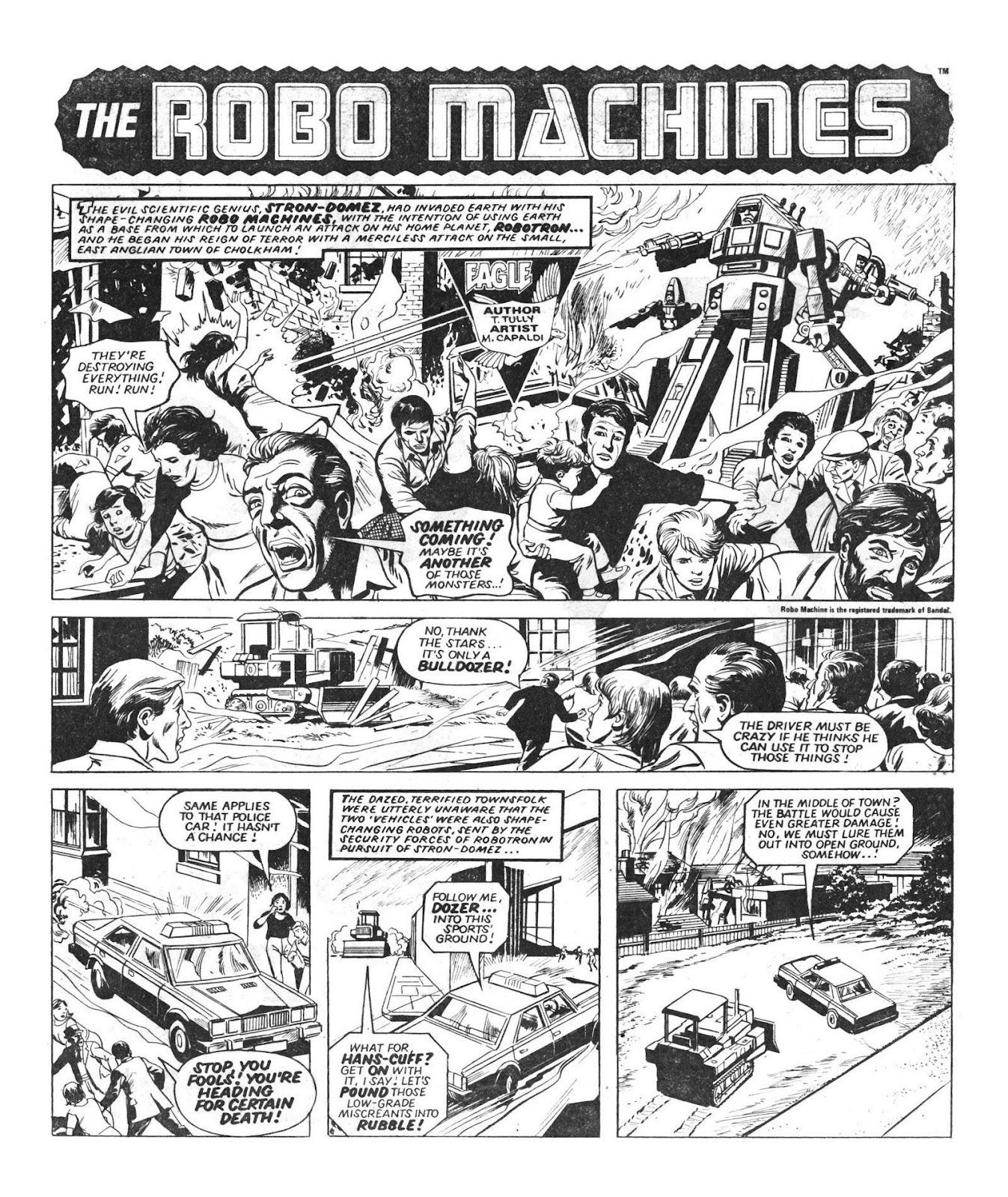 Read online Robo Machines comic -  Issue # TPB - 21