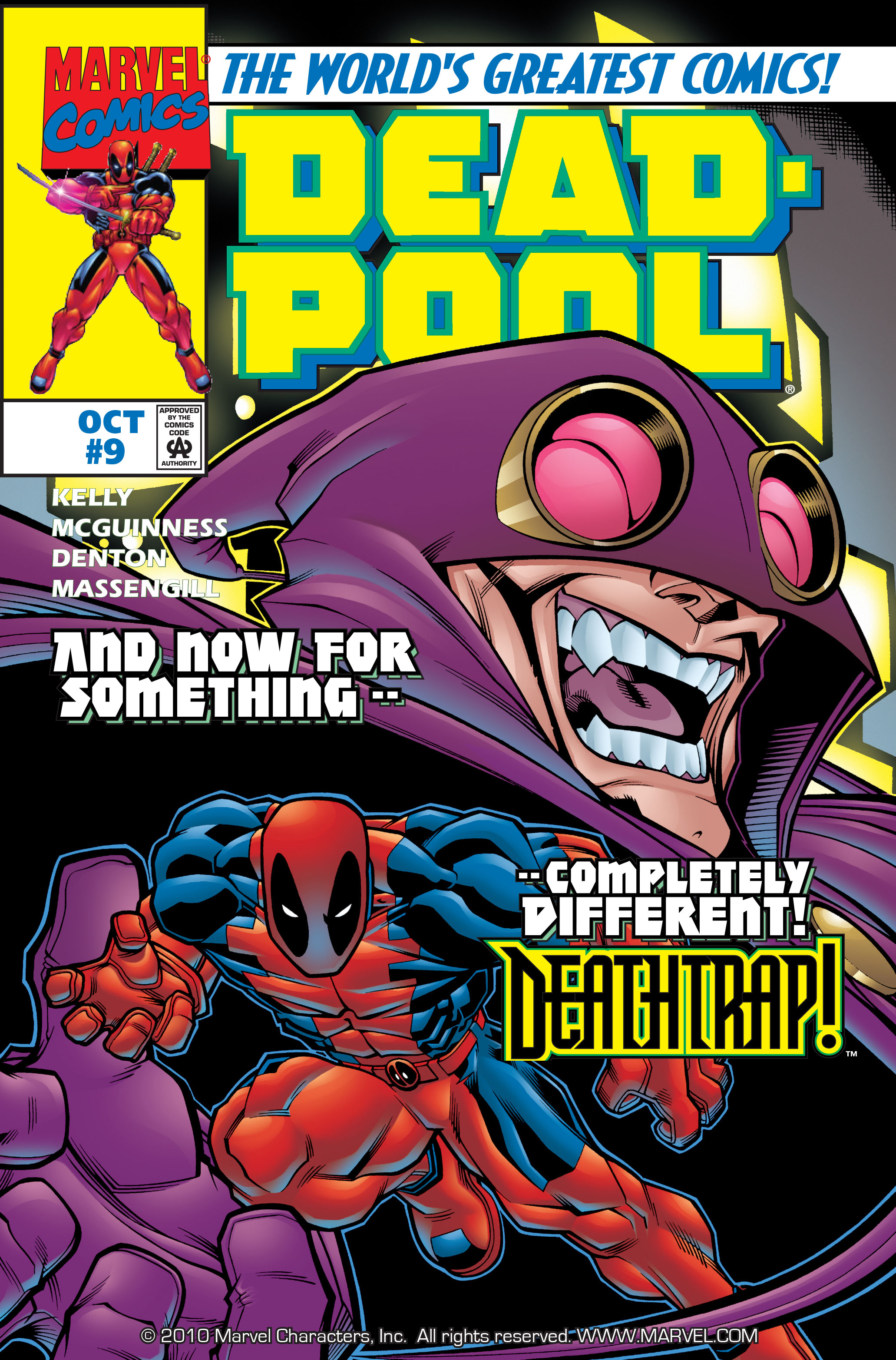 Deadpool (1997) 9 Page 1