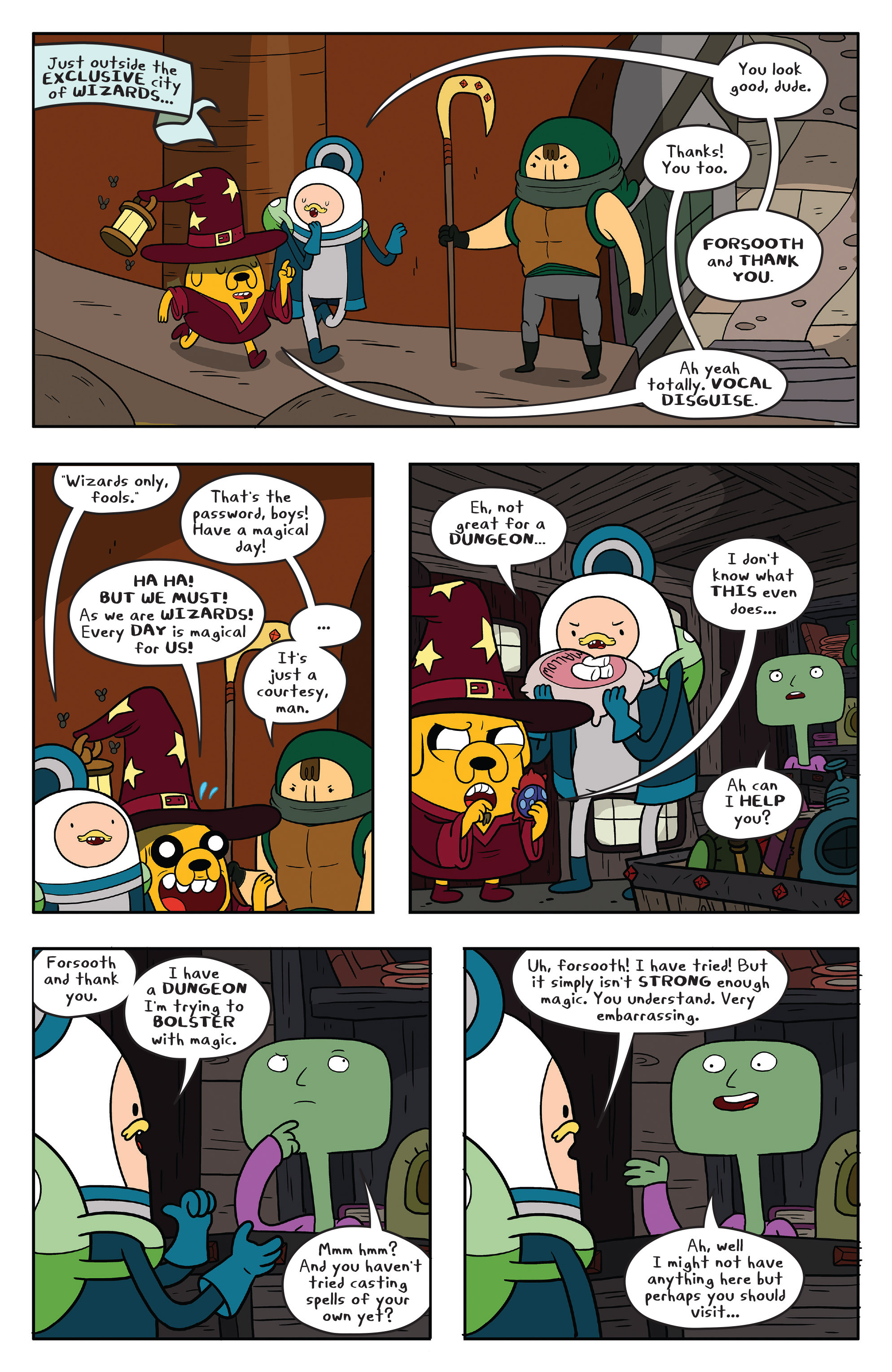Read online Adventure Time comic -  Issue #58 - 21
