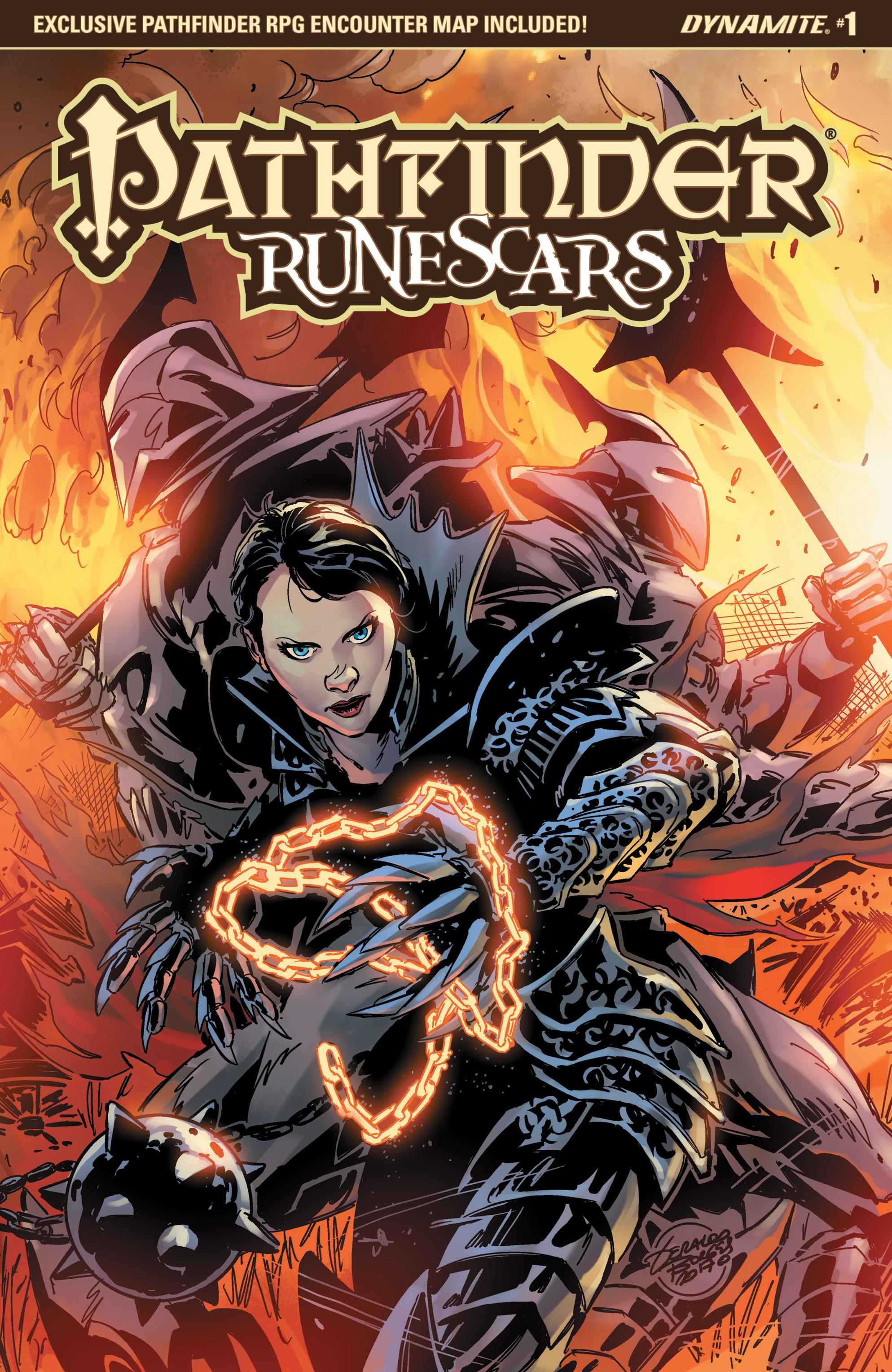 Read online Pathfinder: Runescars comic -  Issue #1 - 2
