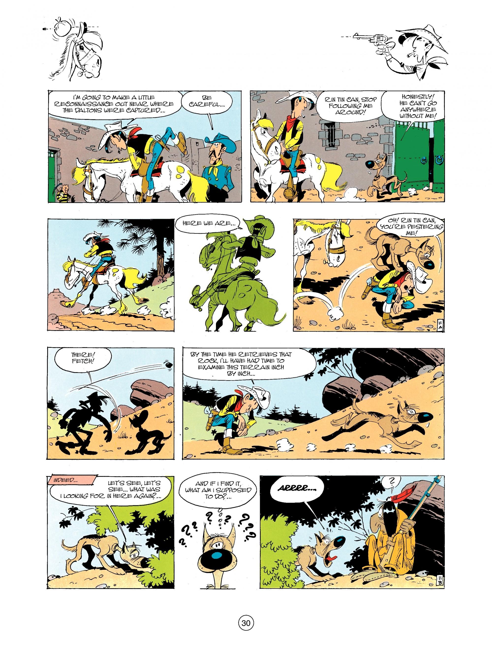 Read online A Lucky Luke Adventure comic -  Issue #34 - 30