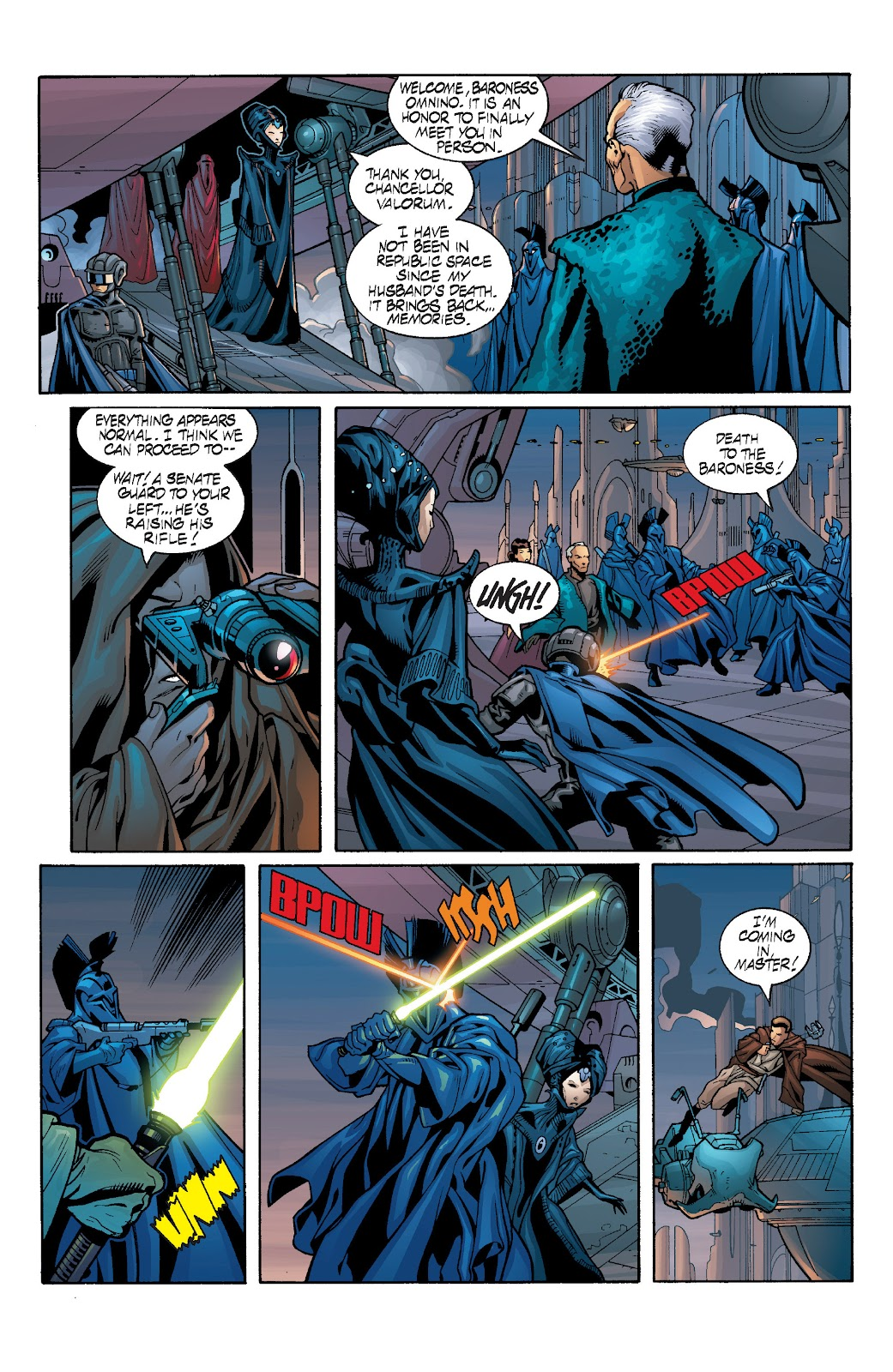 Read online Star Wars Legends: Rise of the Sith - Epic Collection comic -  Issue # TPB 1 (Part 3) - 74