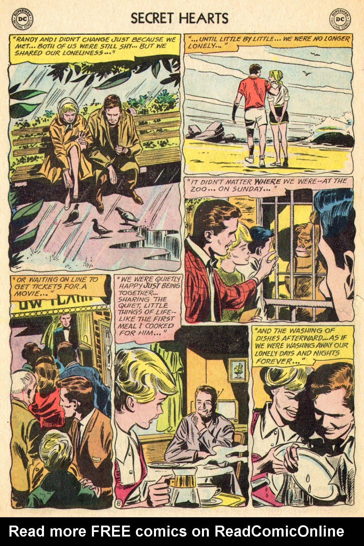 Read online Secret Hearts comic -  Issue #101 - 26