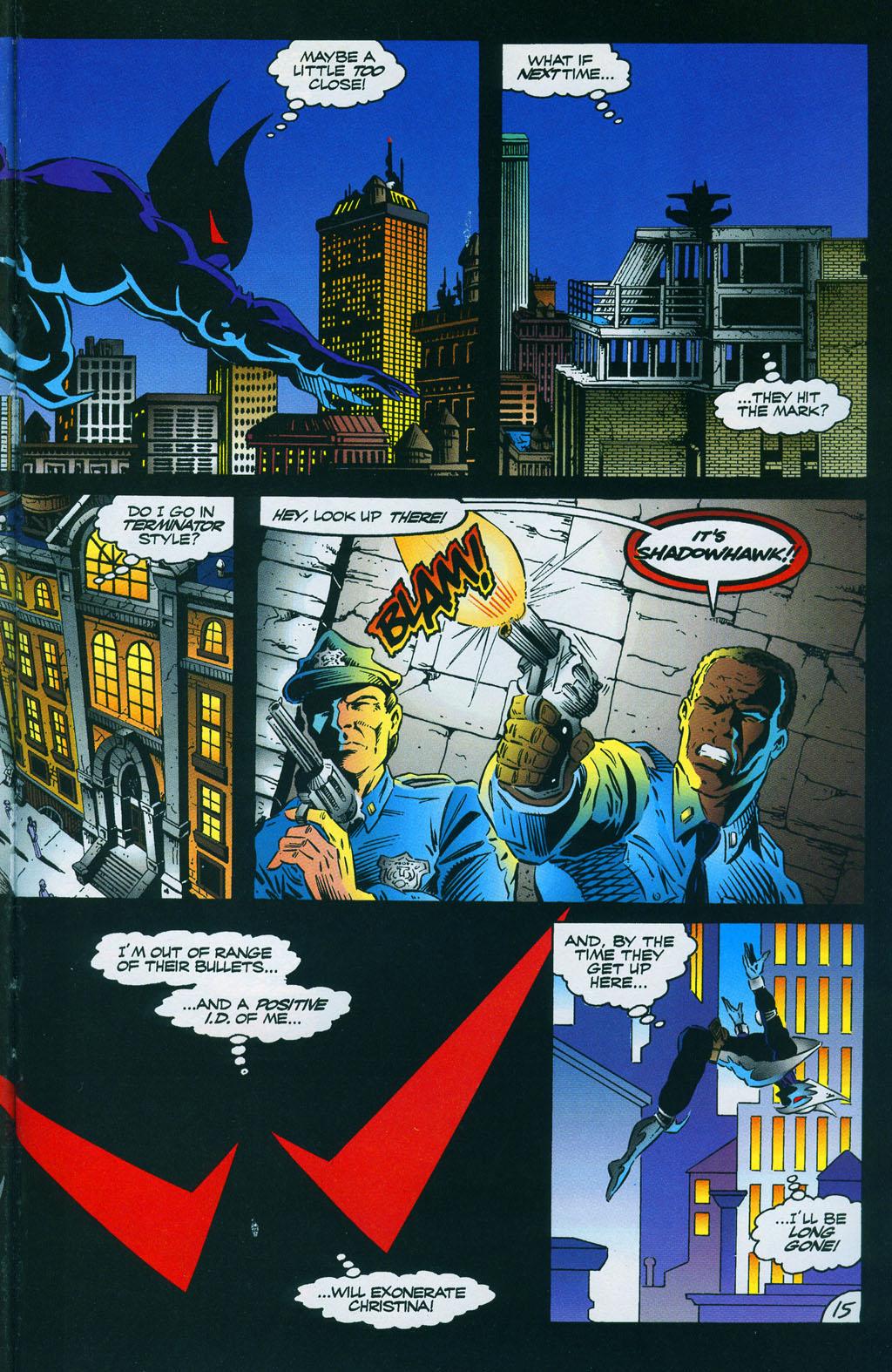Read online ShadowHawk comic -  Issue #7 - 21