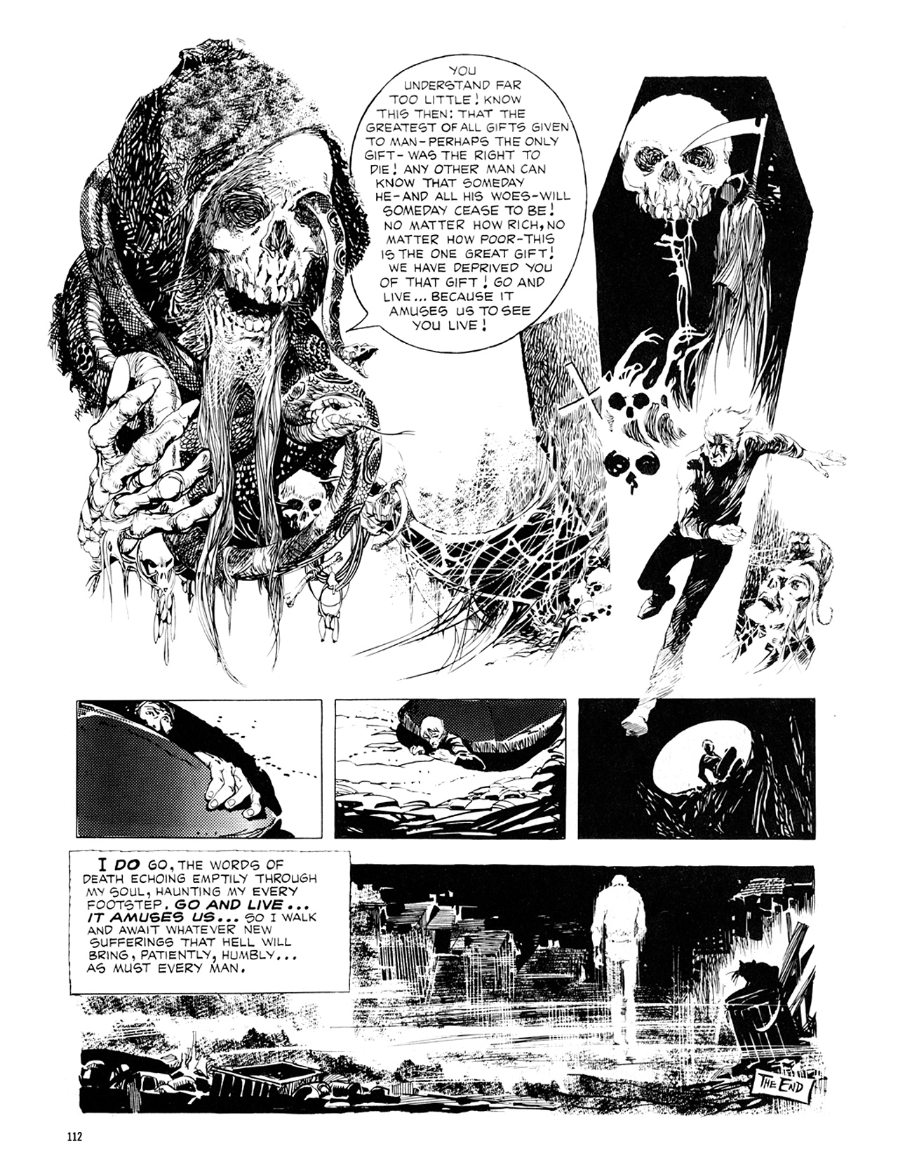 Read online Eerie Archives comic -  Issue # TPB 8 - 113