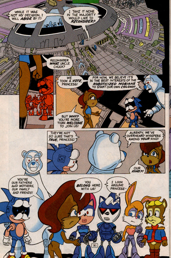 Read online Sonic Super Special comic -  Issue #2 - Brave new world - 38