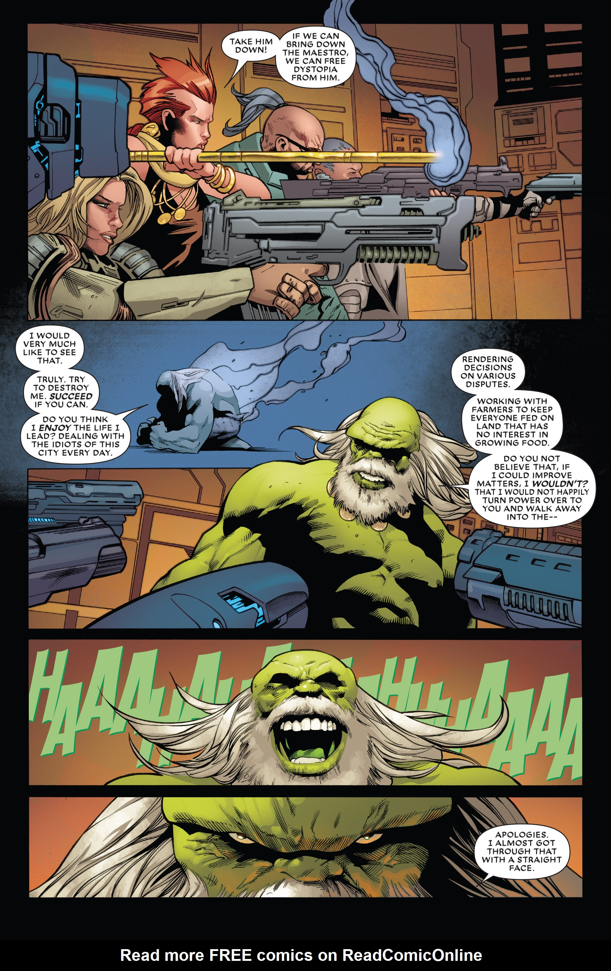Read online Future Imperfect comic -  Issue #1 - 19