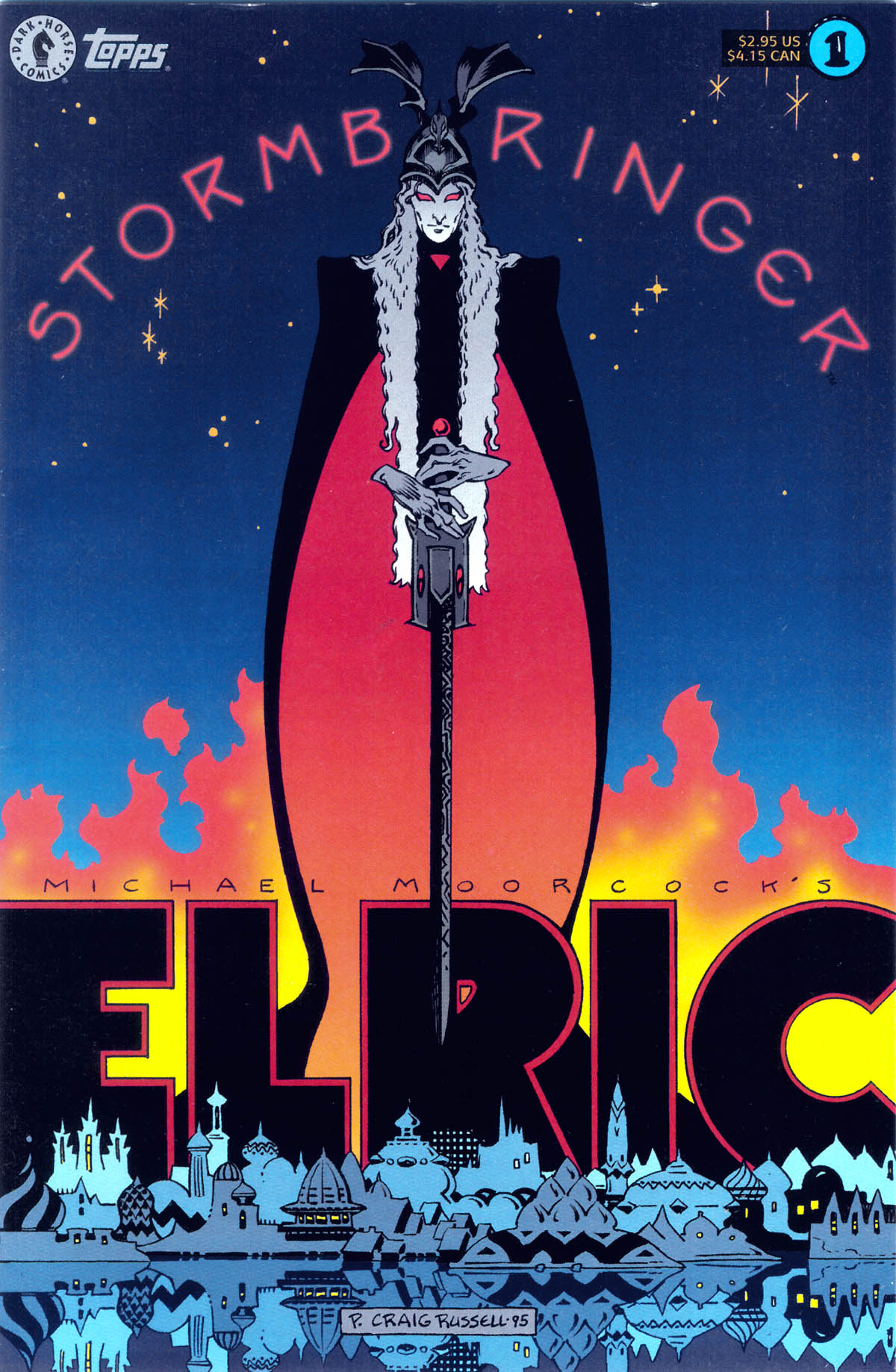 Read online Elric: Stormbringer comic -  Issue #1 - 1