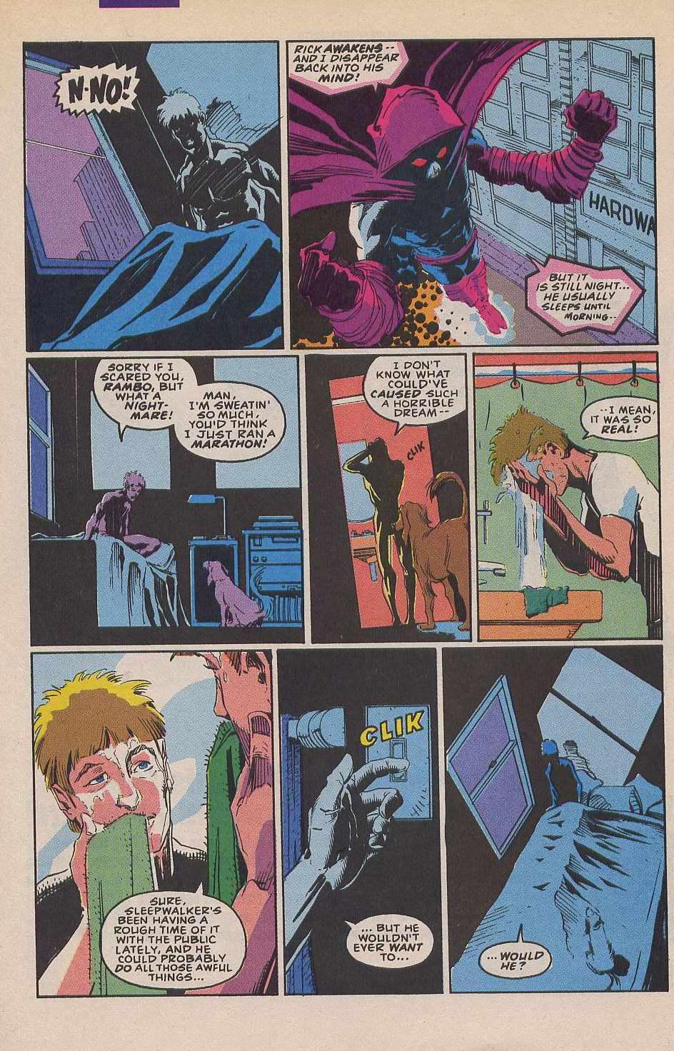 Read online Sleepwalker comic -  Issue #12 - 6